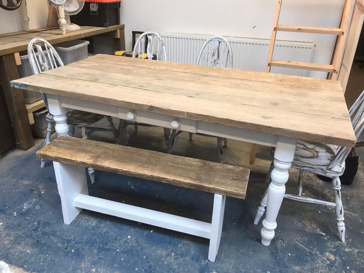 Surprising Lovely Rustic Farmhouse Table Chairs Bench Ocoug Best Dining Table And Chair Ideas Images Ocougorg