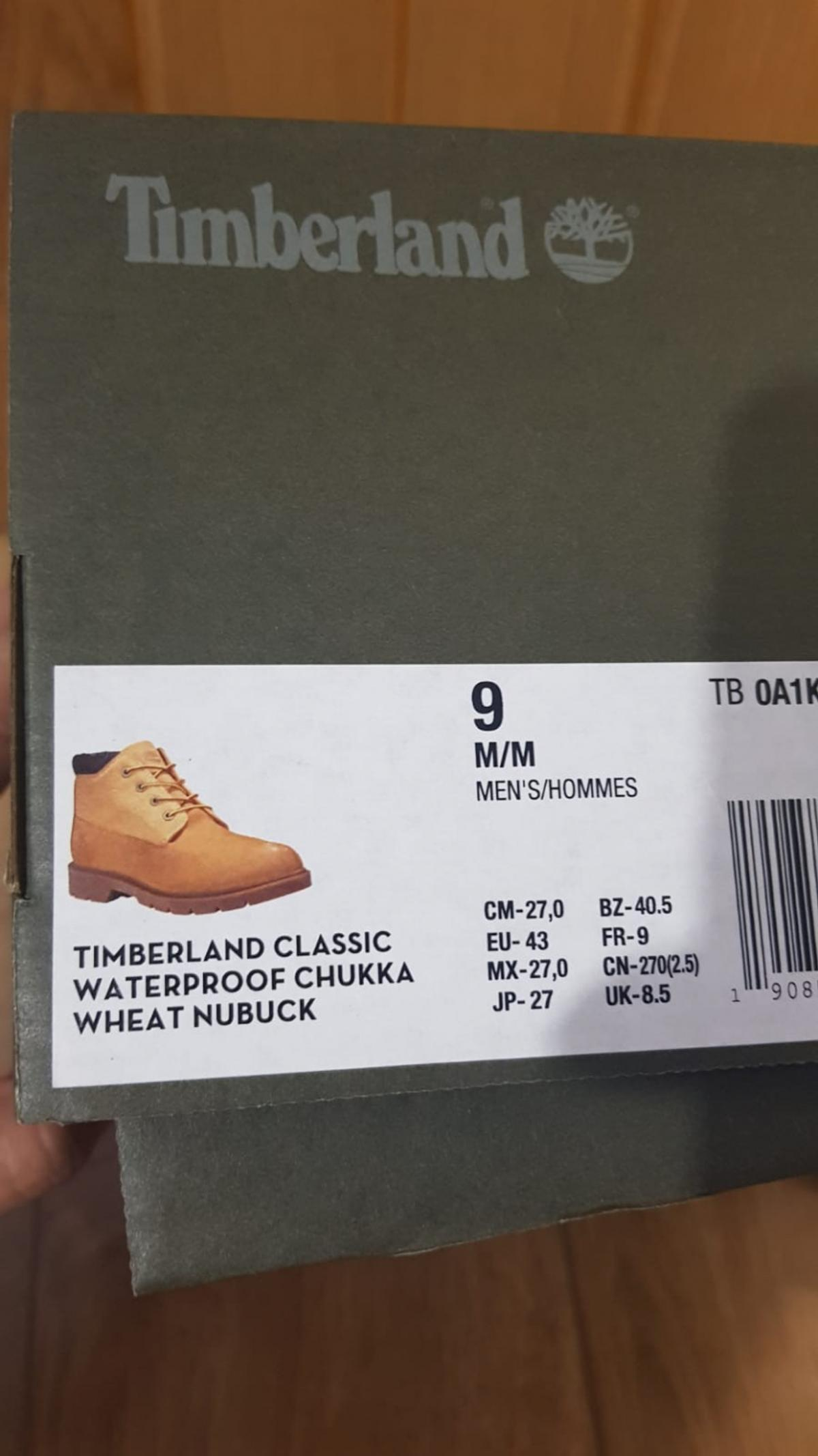 Timberland brand new Shoes size 9