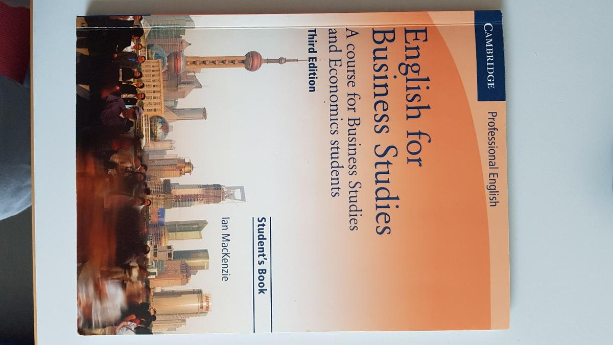 English For Business Studies Students Book