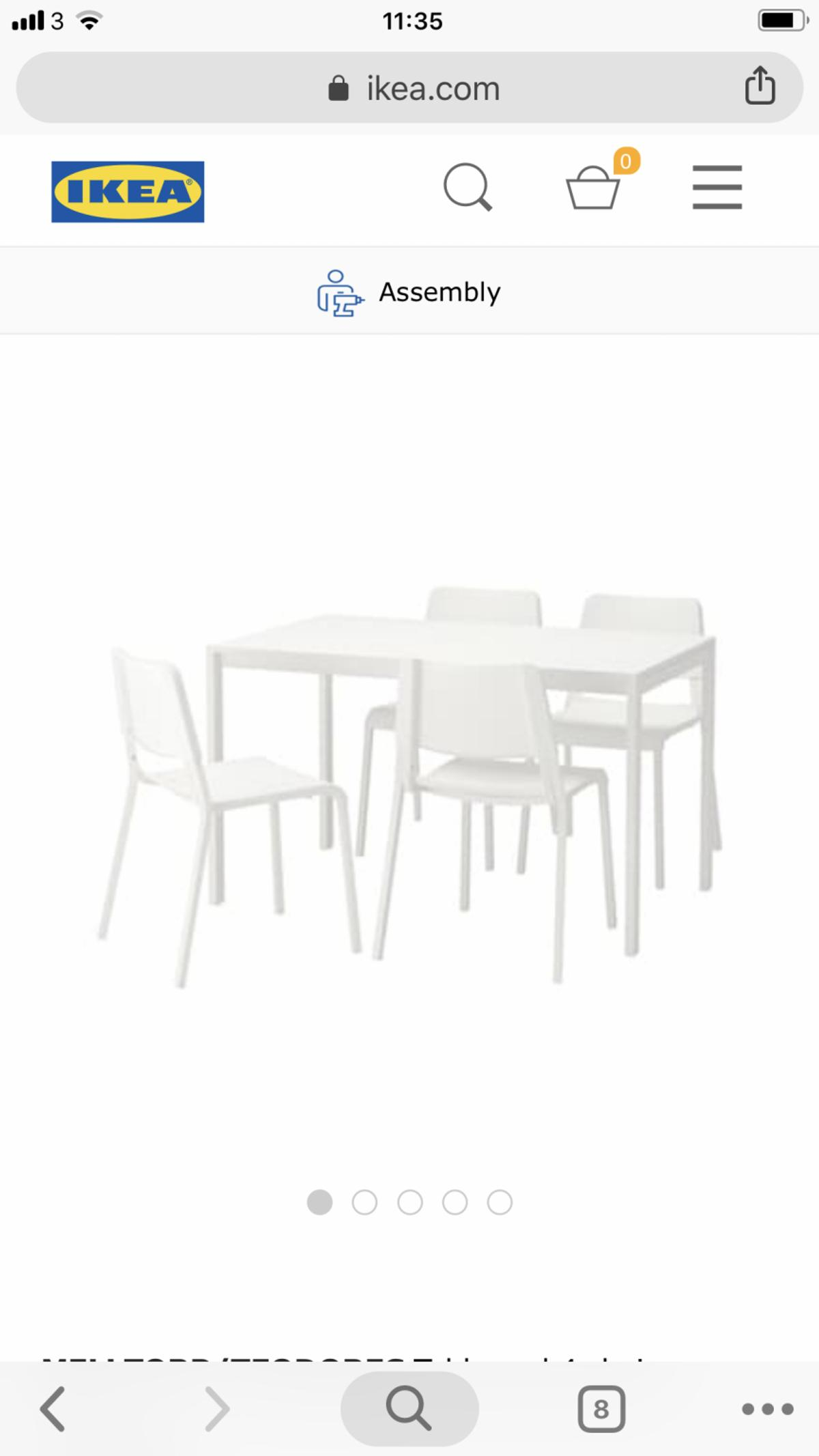 Outstanding Ikea Dining Table Set In Bd5 Bradford For 90 00 For Sale Ocoug Best Dining Table And Chair Ideas Images Ocougorg