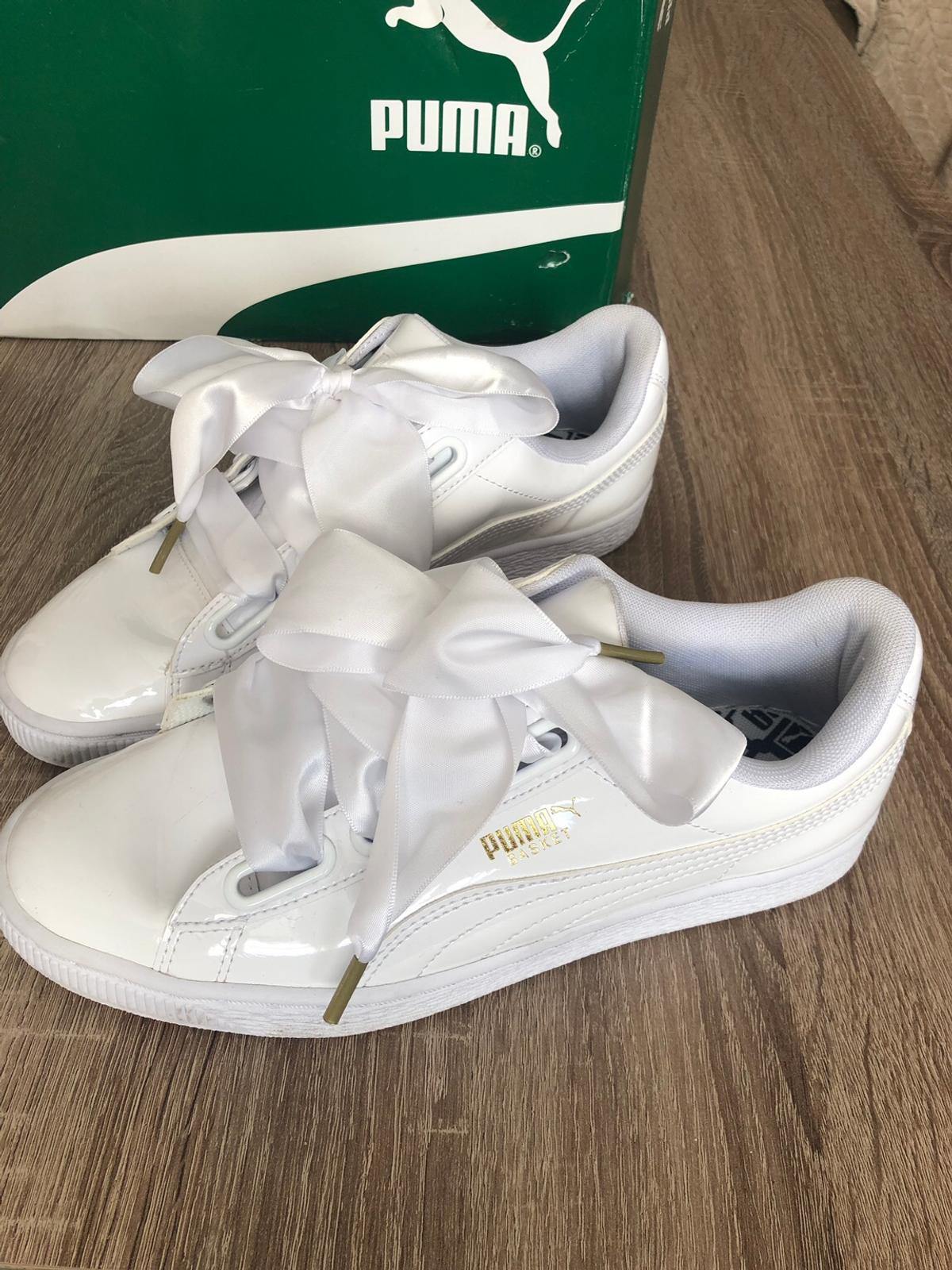 newest 7c06b 83144 Ladies Puma Basket Heart trainers size 5 in WV14 Dudley for ...
