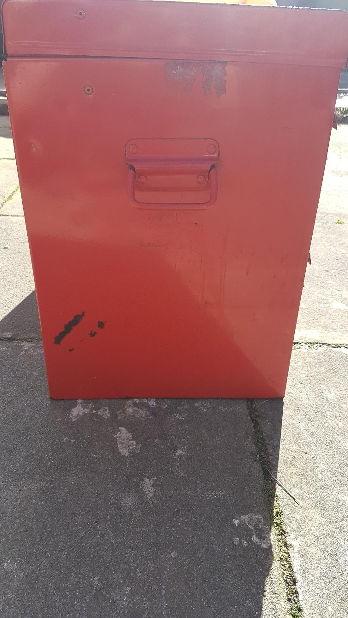 10 draw red metal tool chest box TASKMASTER in CH45 Wirral for £100.00 for  sale | Shpock