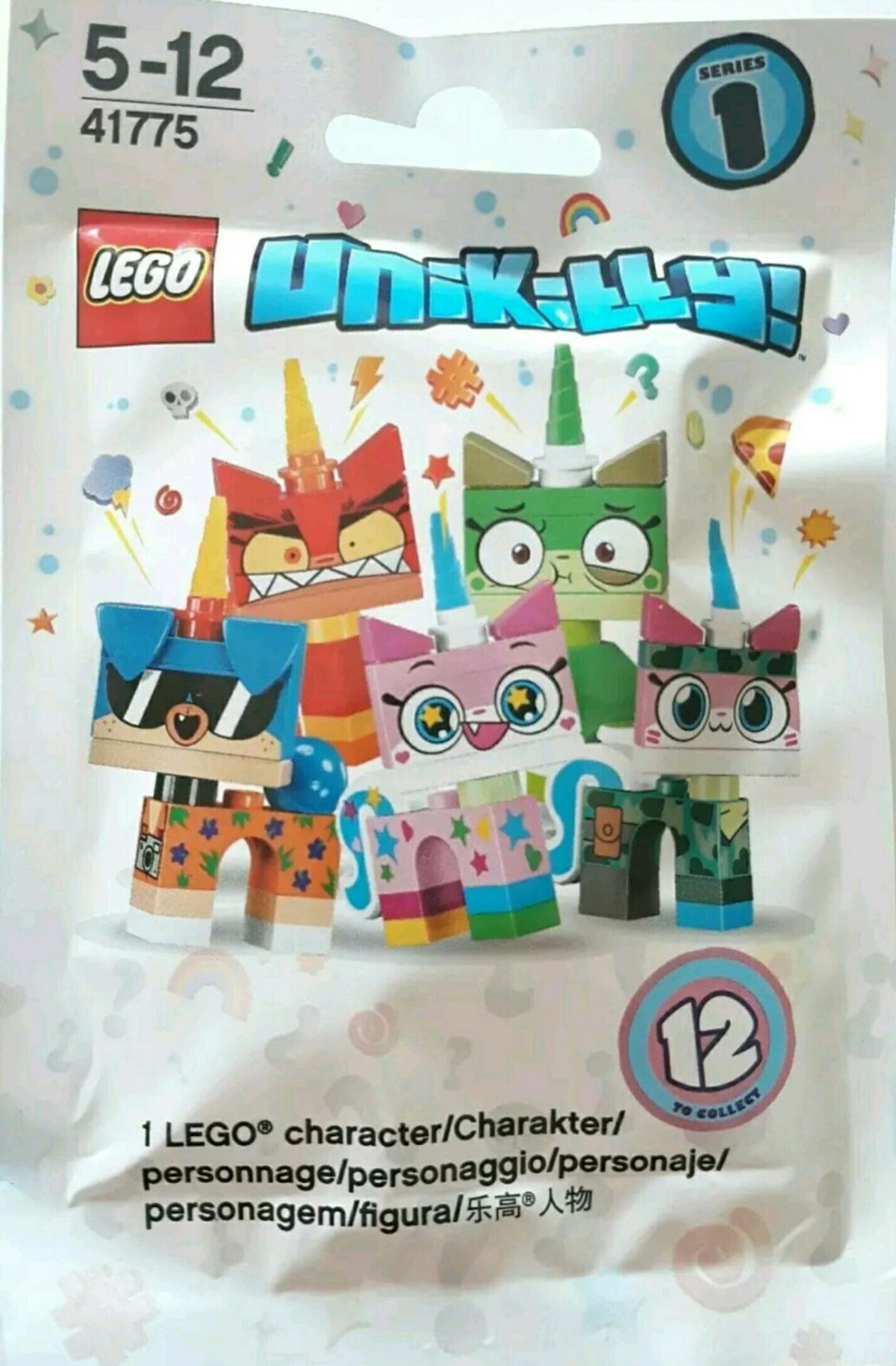 SIX SEALED Collectible character polybags series 1 LEGO 41775 Unikitty 6