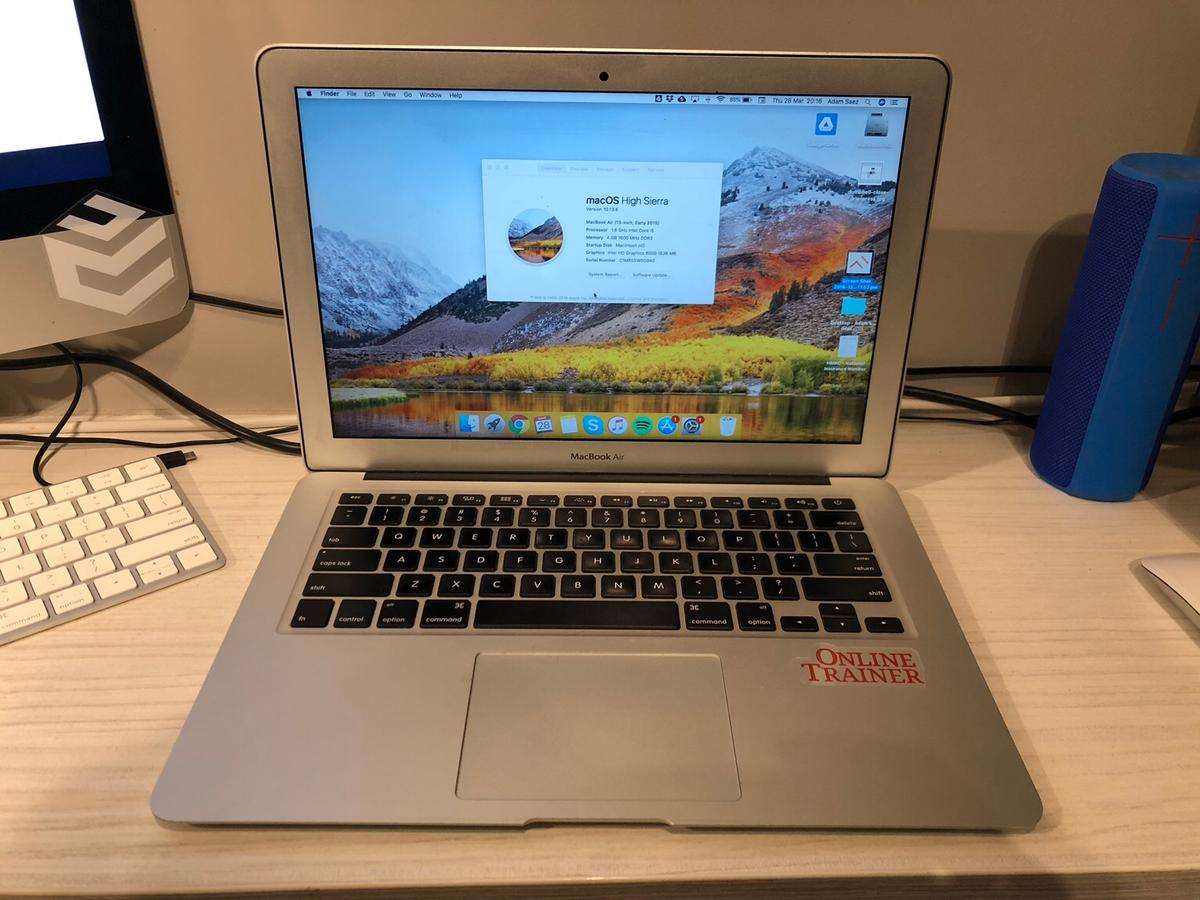 MacBook Air (13-inch, early 2015) in NW10 London for £430 00