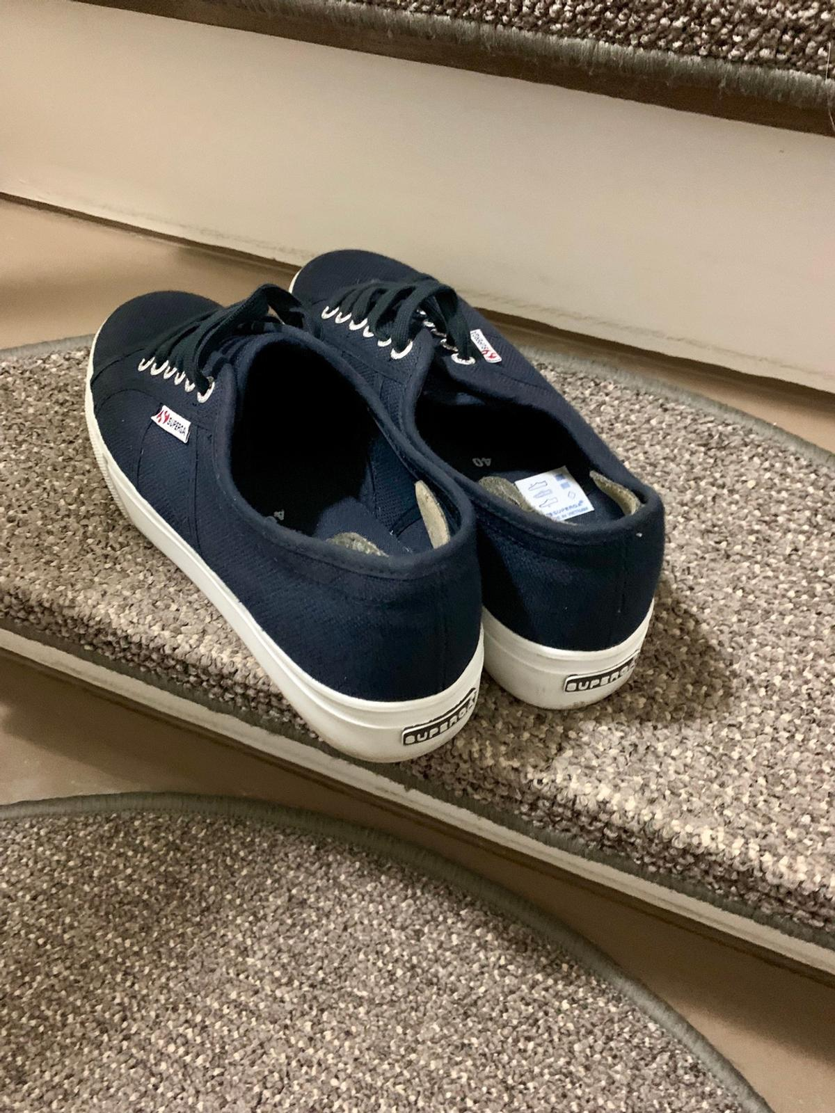 new product 31975 6c36b Superga plateau Schuhe in 47139 Duisburg for €55.00 for sale ...
