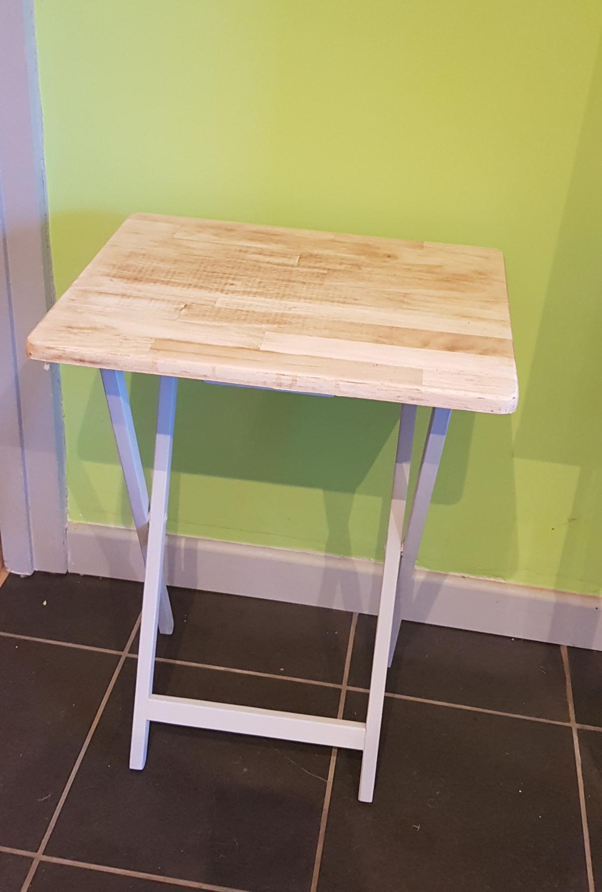 Upcycled Occasional Folding Table In B75 Birmingham For 25 00 For Sale Shpock