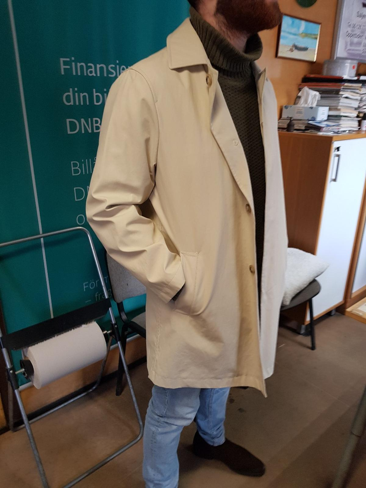 first rate professional dependable performance Gant camel trench coat