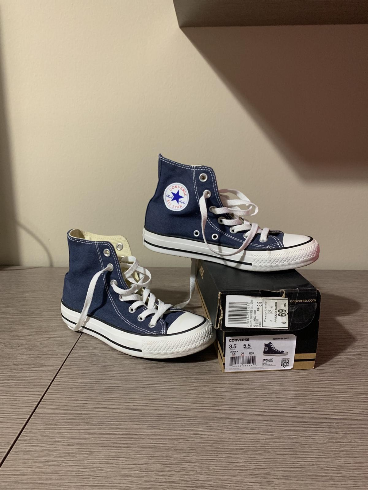 Converse All Star BluNavy donna num 36 in 95126 Catania für