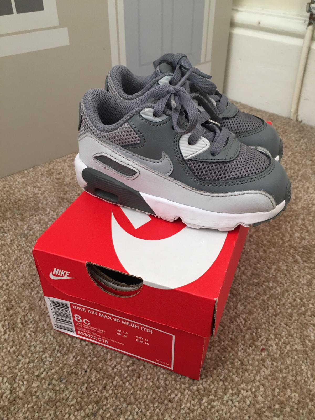 infant size 7 nike trainers