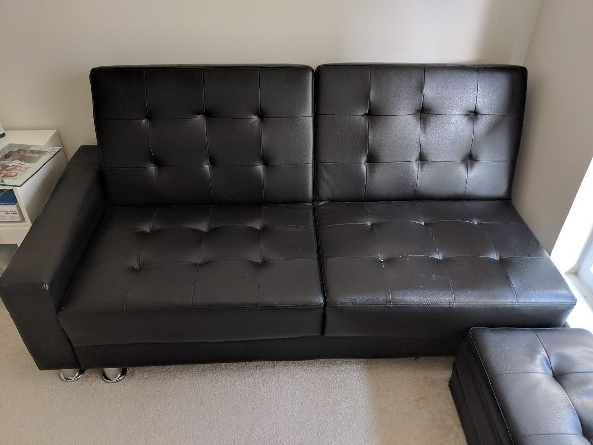 Picture of: Small Sofa Bed With Ottoman Storage In Nw9 London For 60 00 For Sale Shpock