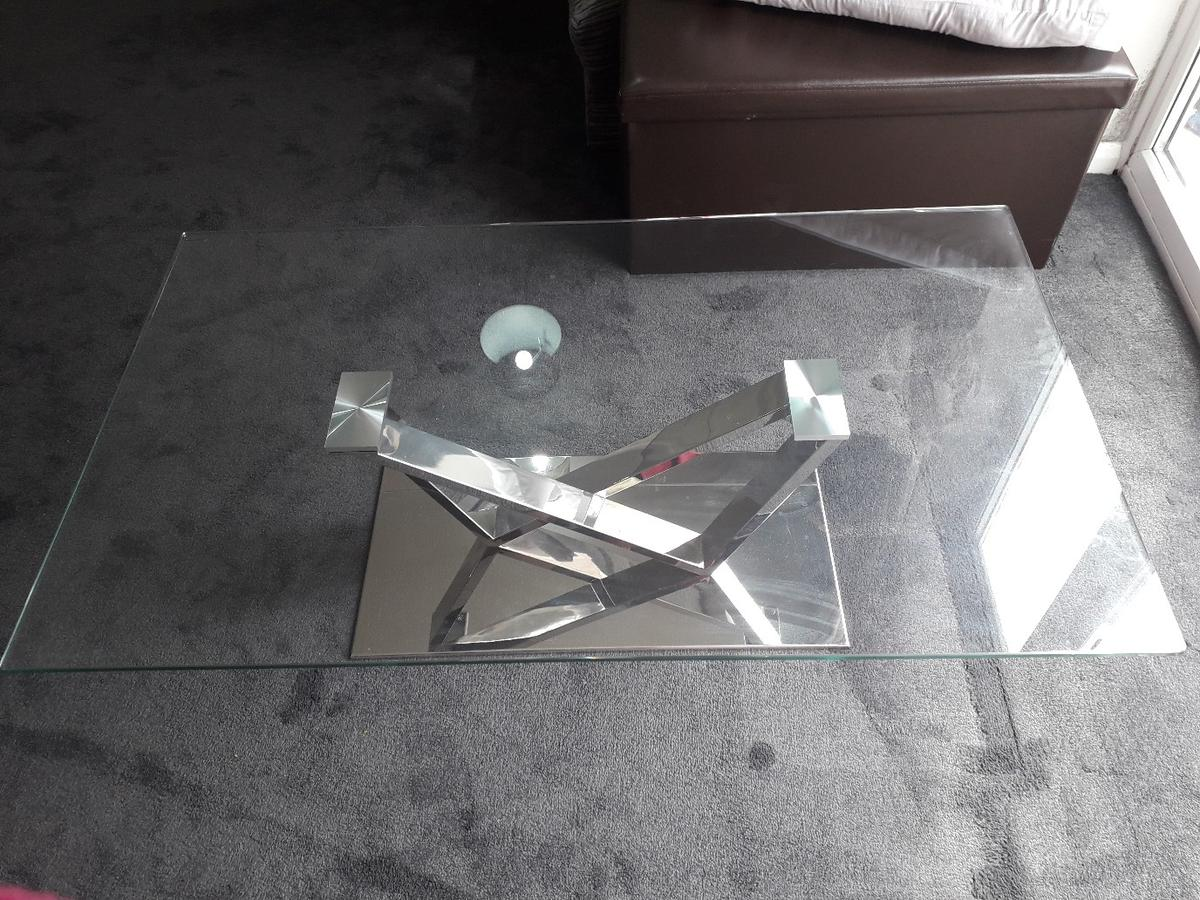 Furniture Village Glass Coffee Table
