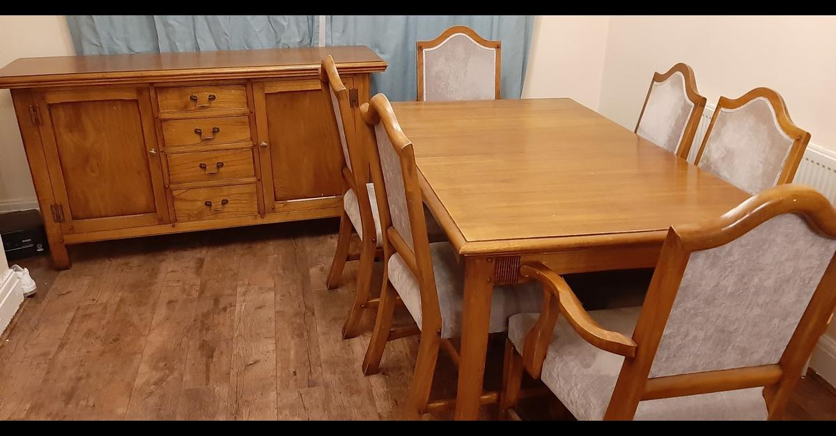 Dinning Furniture Set In Oldham For 30000 Sale