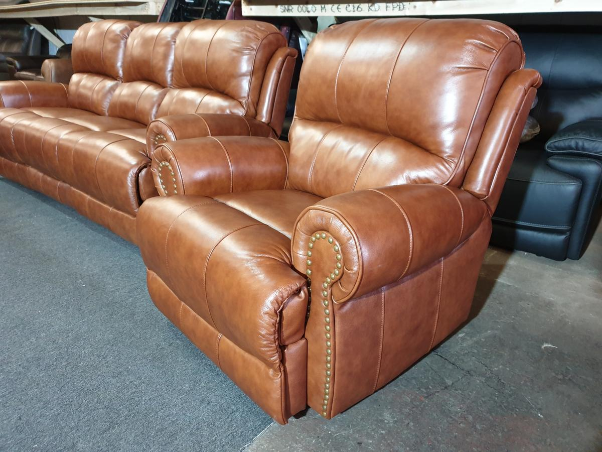 Fine Sofology Heritage Recliner Armchair Brown Tan In Ol1 Oldham Bralicious Painted Fabric Chair Ideas Braliciousco