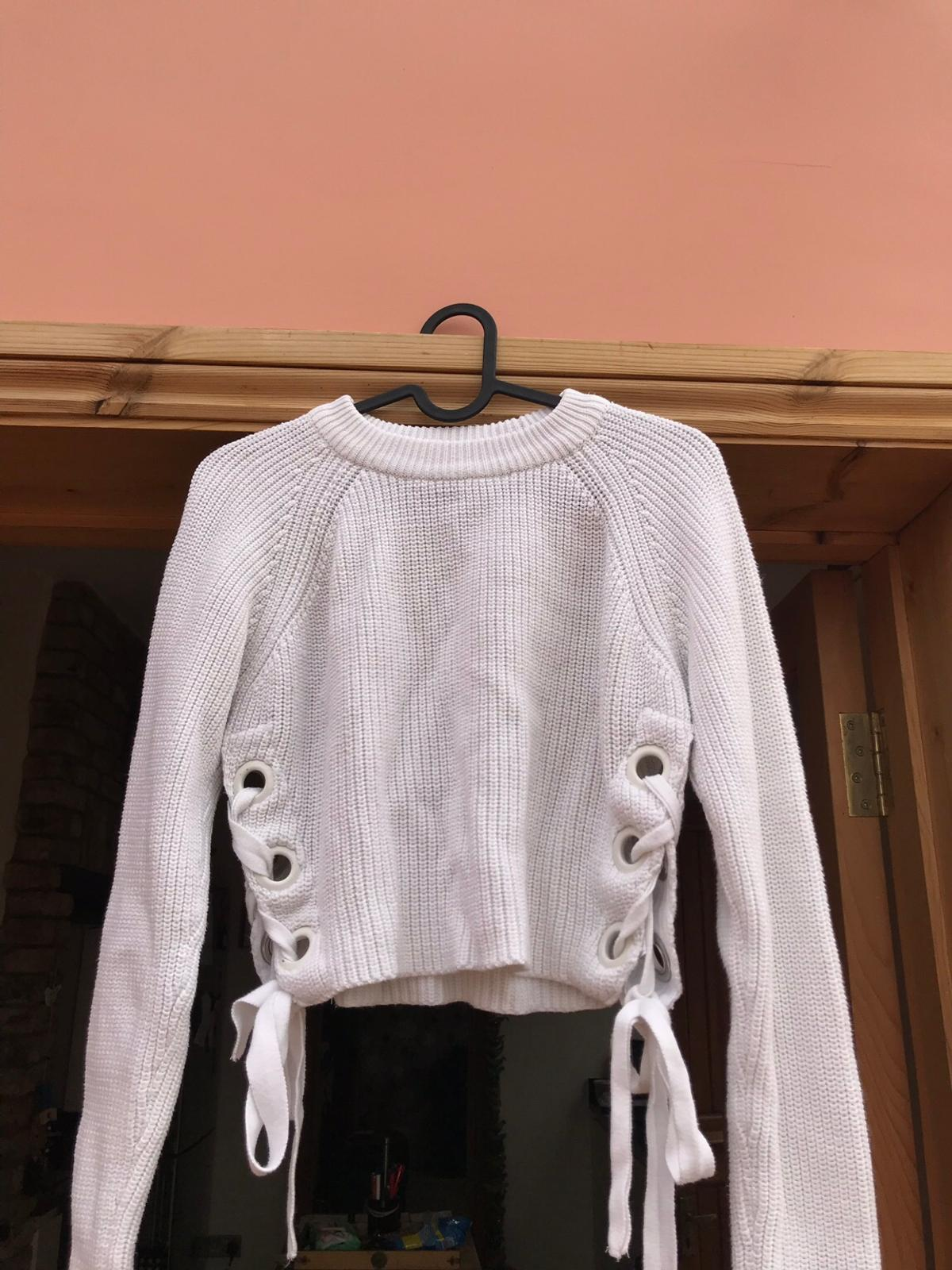 new product shades of later White Topshop cropped jumper in South Bucks for £10.00 for sale ...