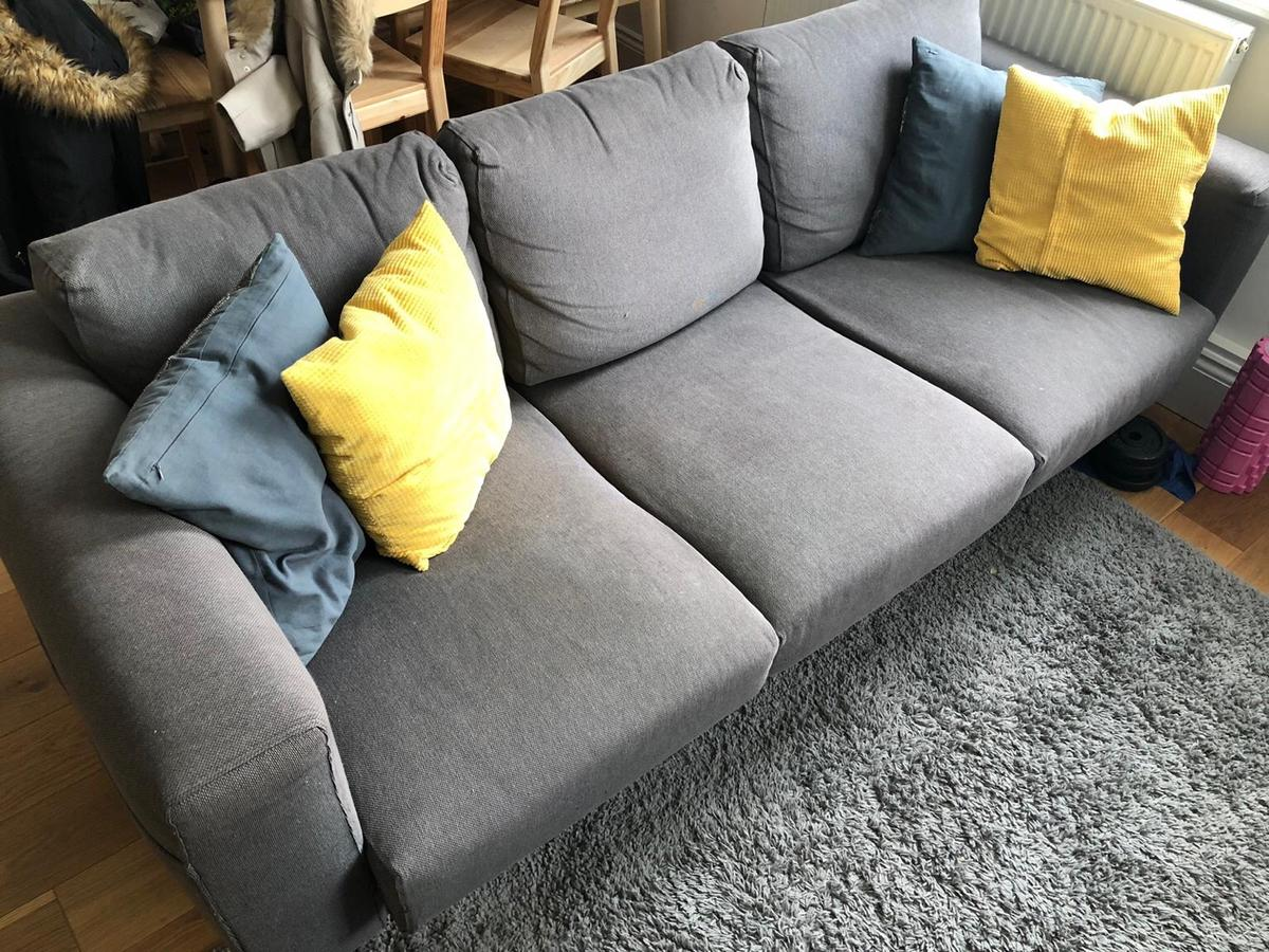 Admirable Ikea Norsborg 3 Seater Sofa In Nw8 Westminster Fur 100 00 Machost Co Dining Chair Design Ideas Machostcouk