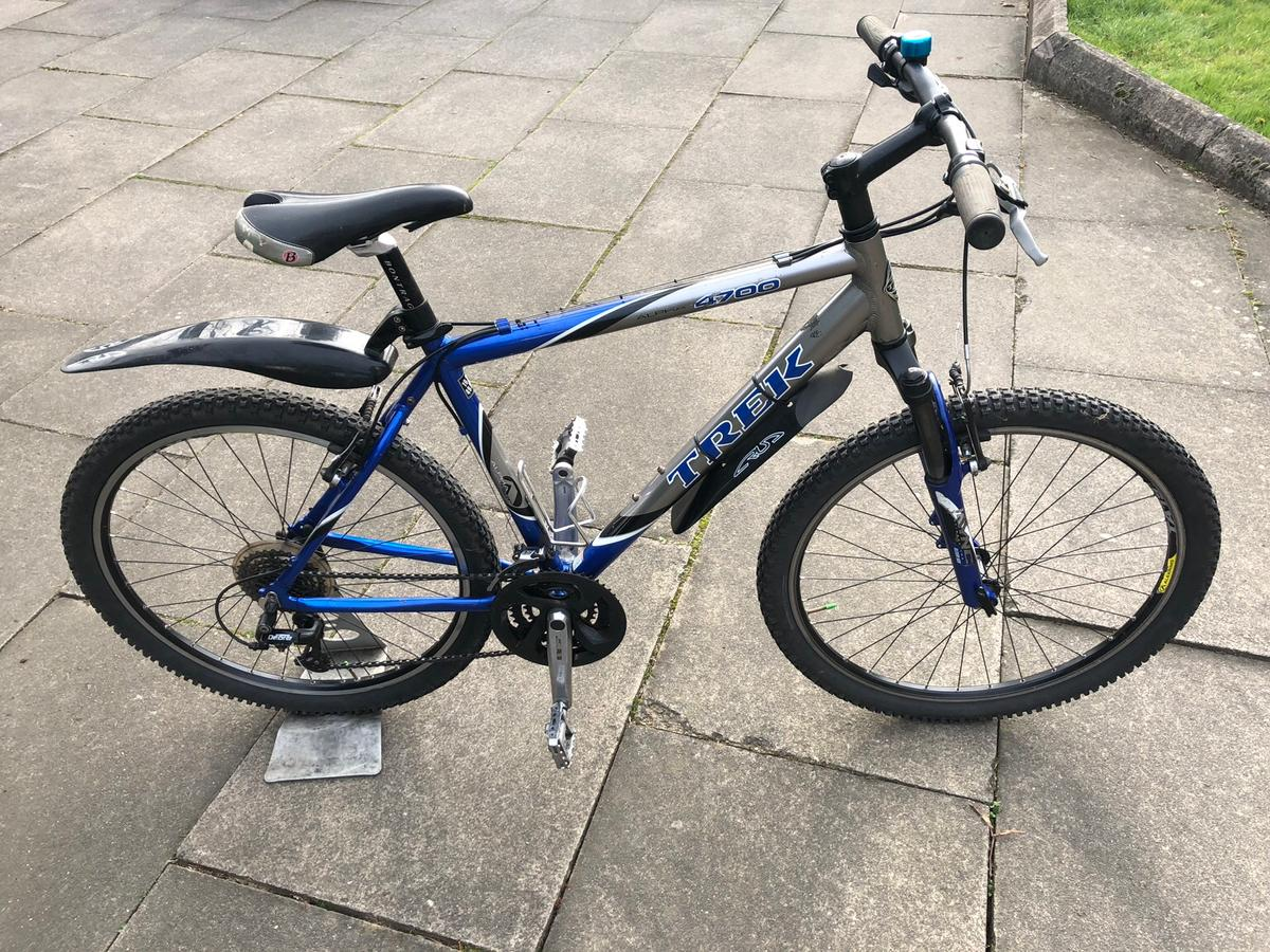 a52cc53cf37 Trek 4700 Alpha mountain bike in St Albans for £100.00 for sale - Shpock