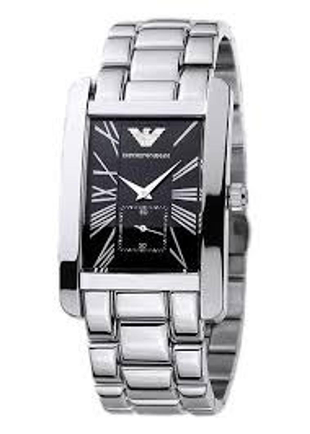 993d9c4c8b Armani AR0156 - Mens Classic Steel Watch