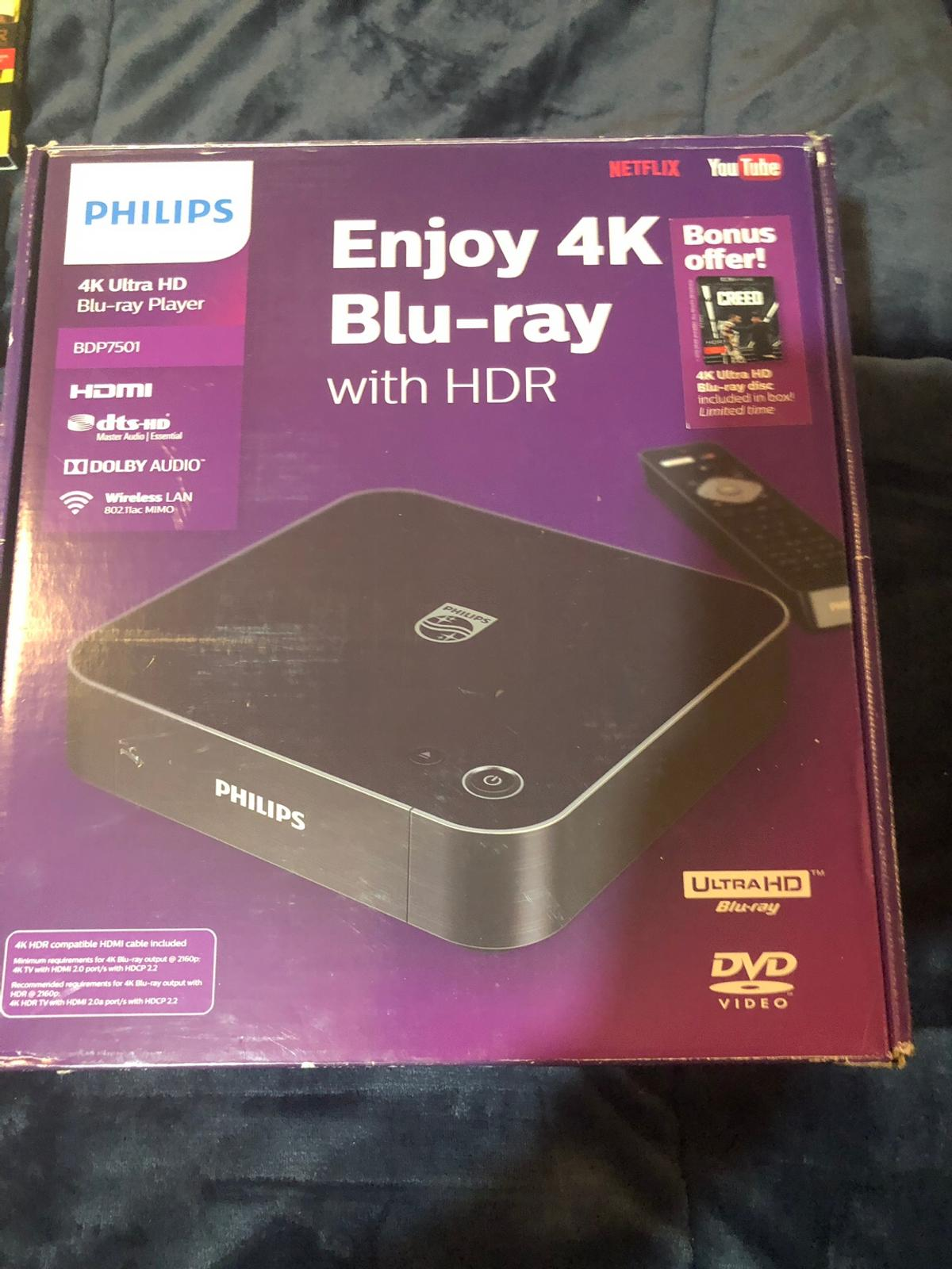 Philips 4K player and 15 4K movies &bluray in for US$300 00