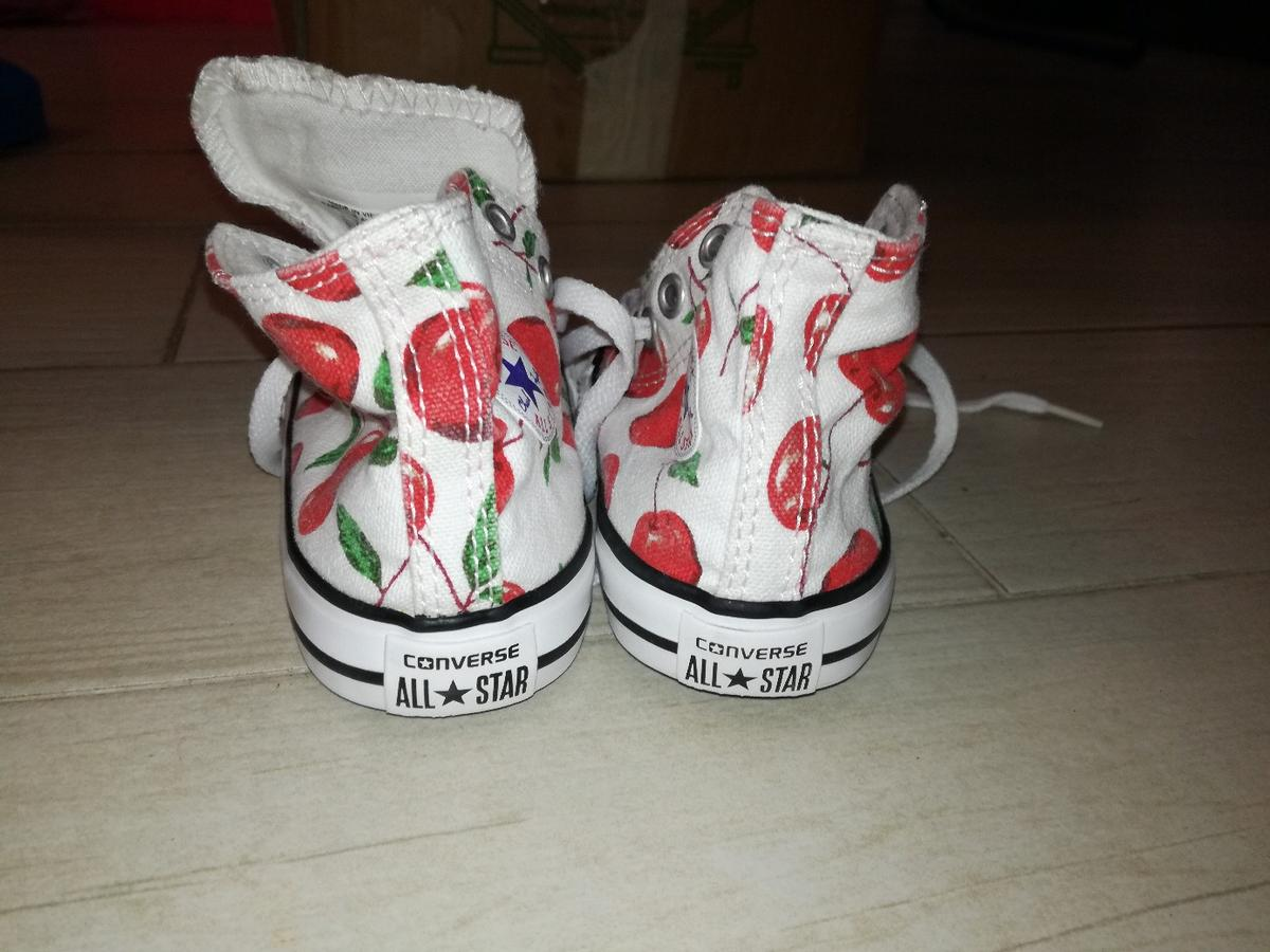 2converse all star bianche bambina