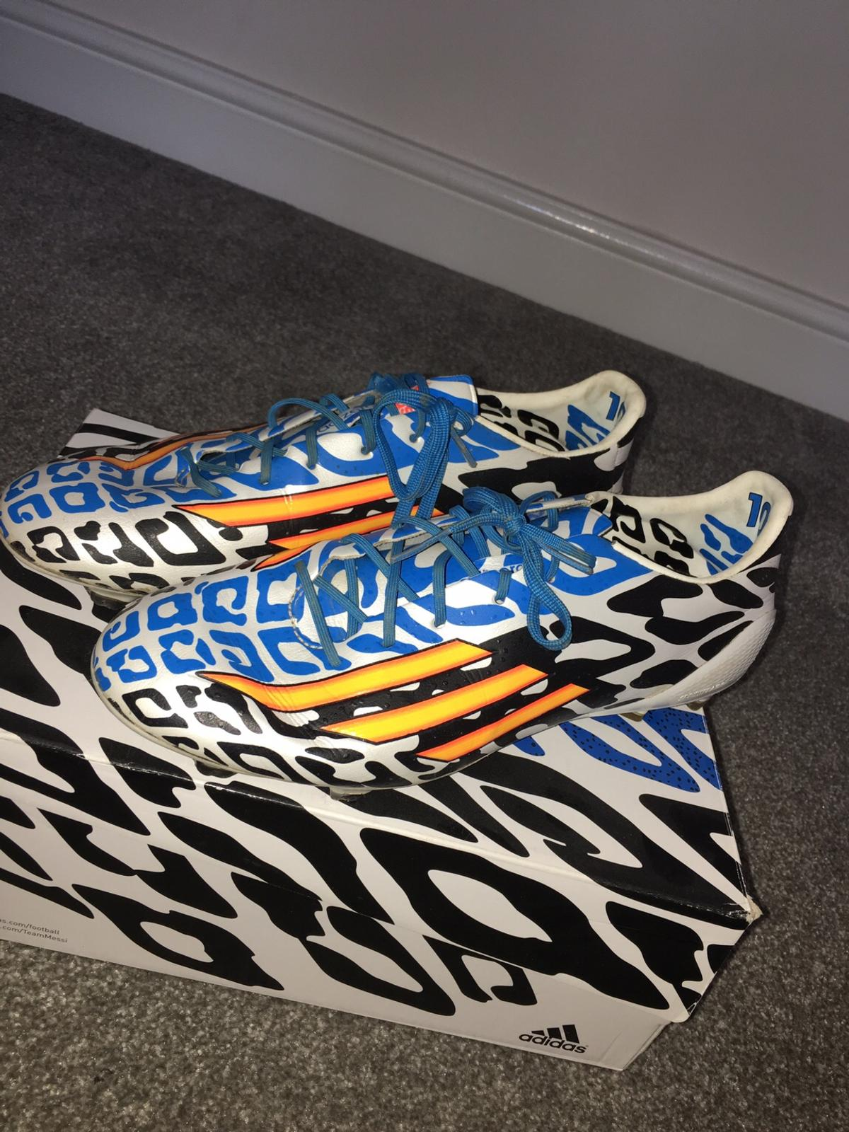 Adidas F50 adizero Messi World Cup size 9 12