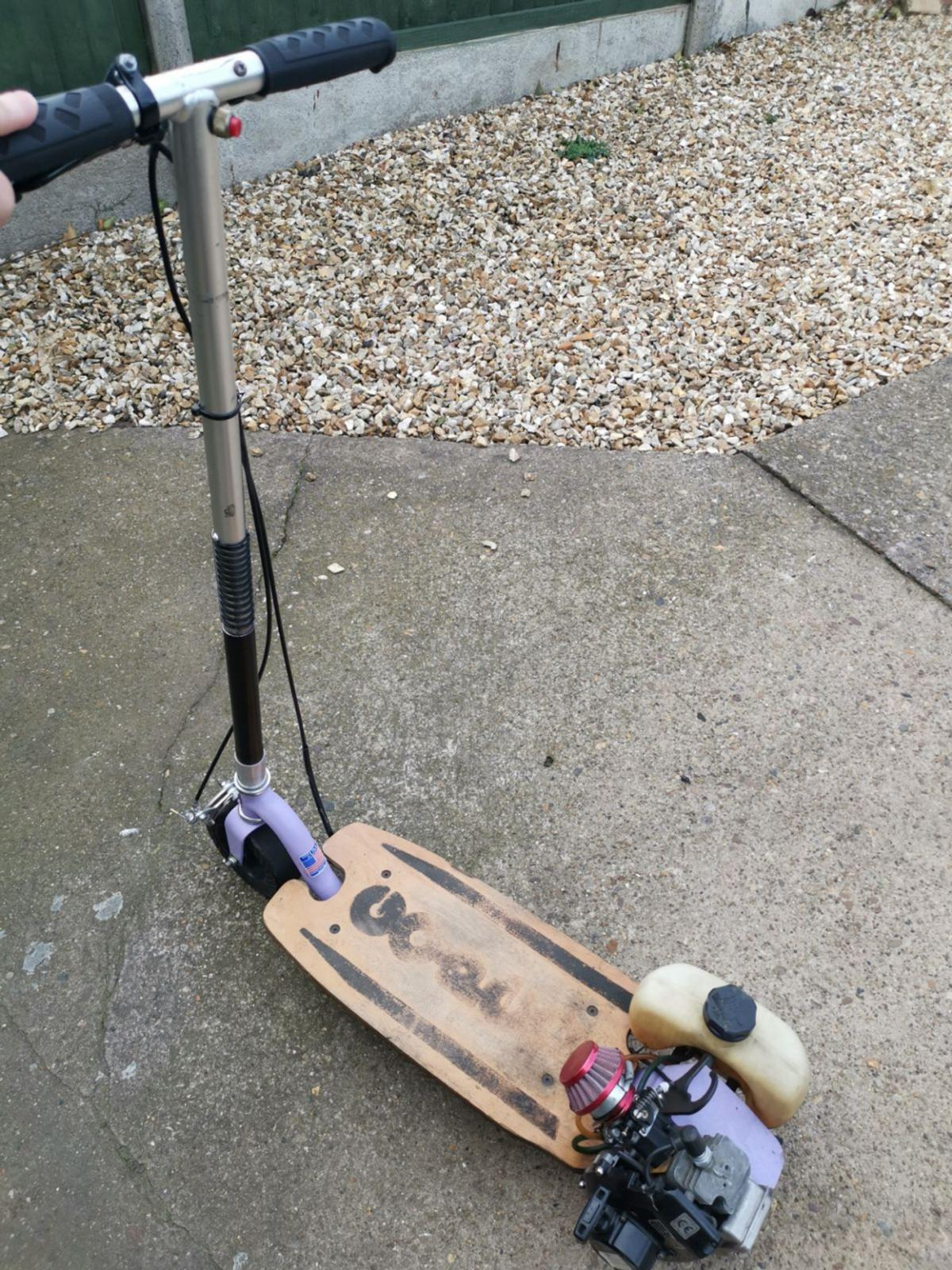 Go-Ped petrol scooter 2 stroke in DN21 Lindsey for £200 00 for sale