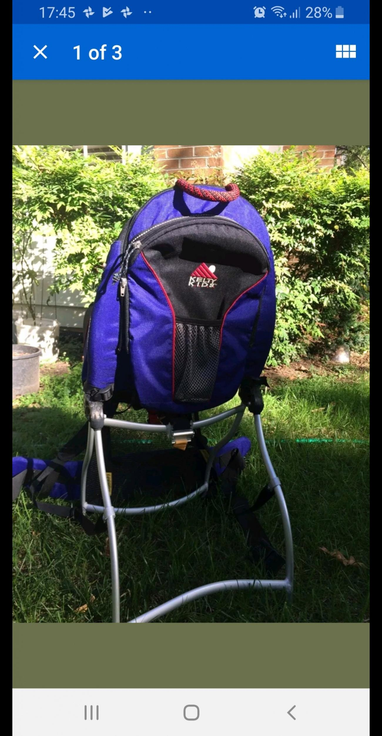 Kelty Kids Carrier In B64 Sandwell For 20 00 For Sale Shpock