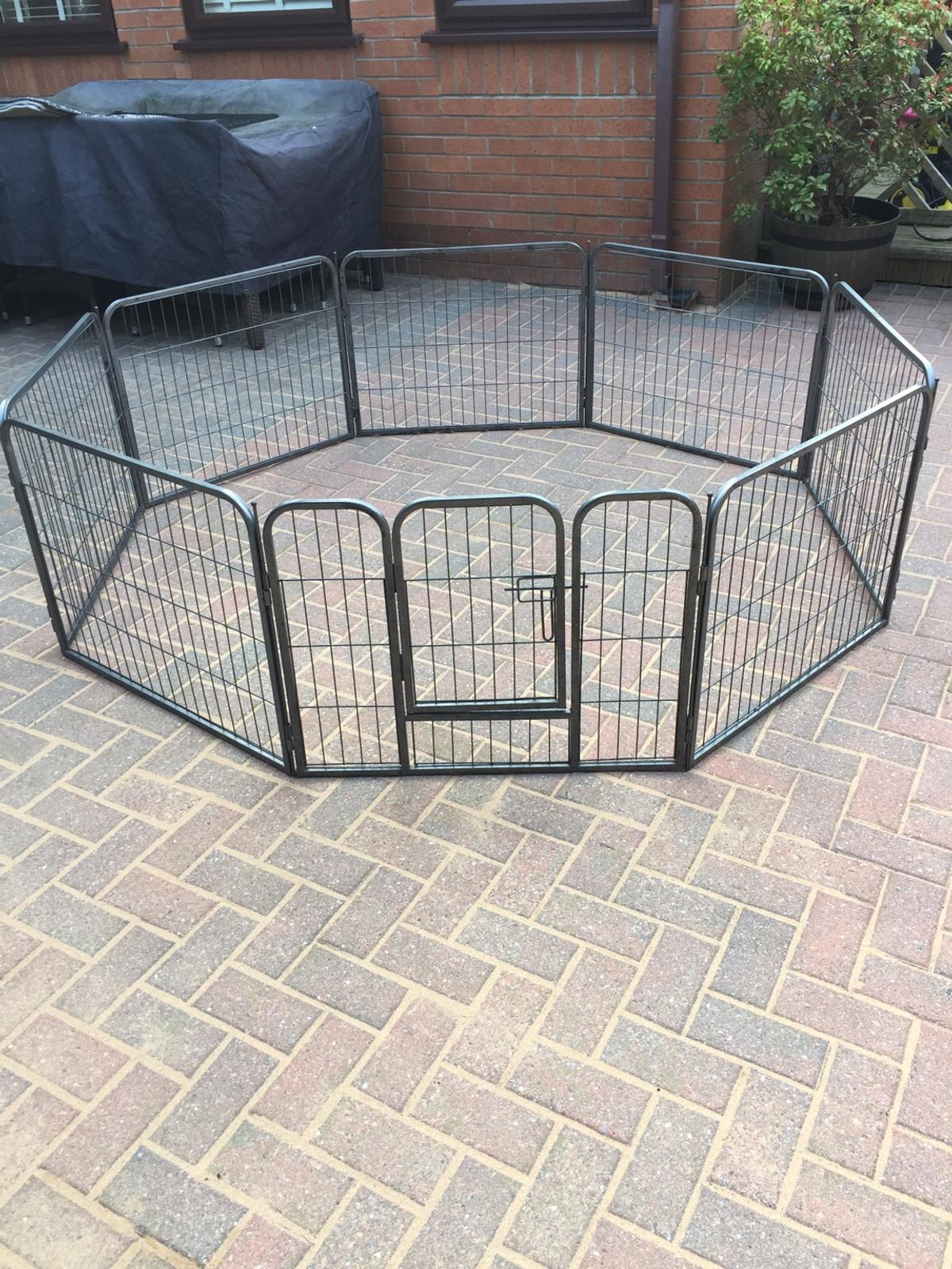 LARGE SIZE DOG/ ANIMAL PEN 8 PIECES in L12 Liverpool for