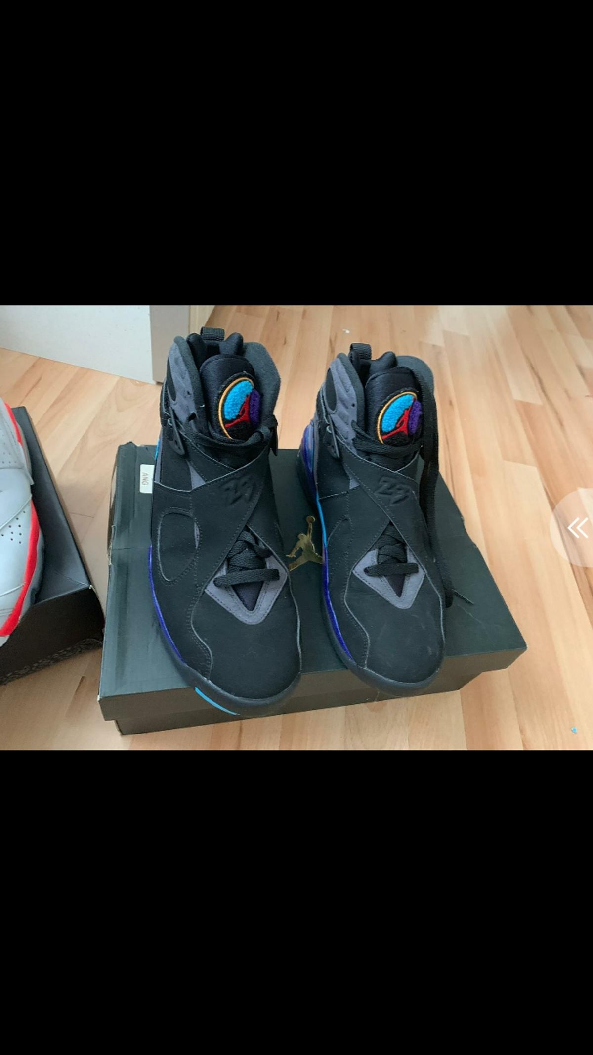 028153e1e13e NIKE AIR JORDAN RETRO 8 AQUA UK 8.5 in NG2 Nottingham for £100.00 ...