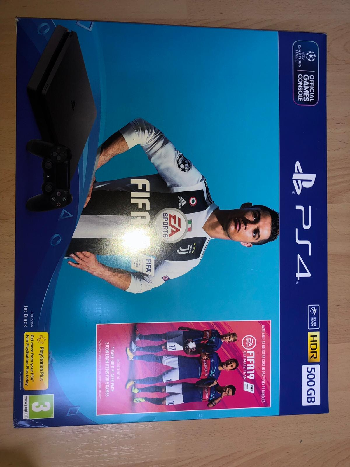 BRAND NEW PS4 + FIFA 19 BUNDLE in LE7 Charnwood für £ 240,00
