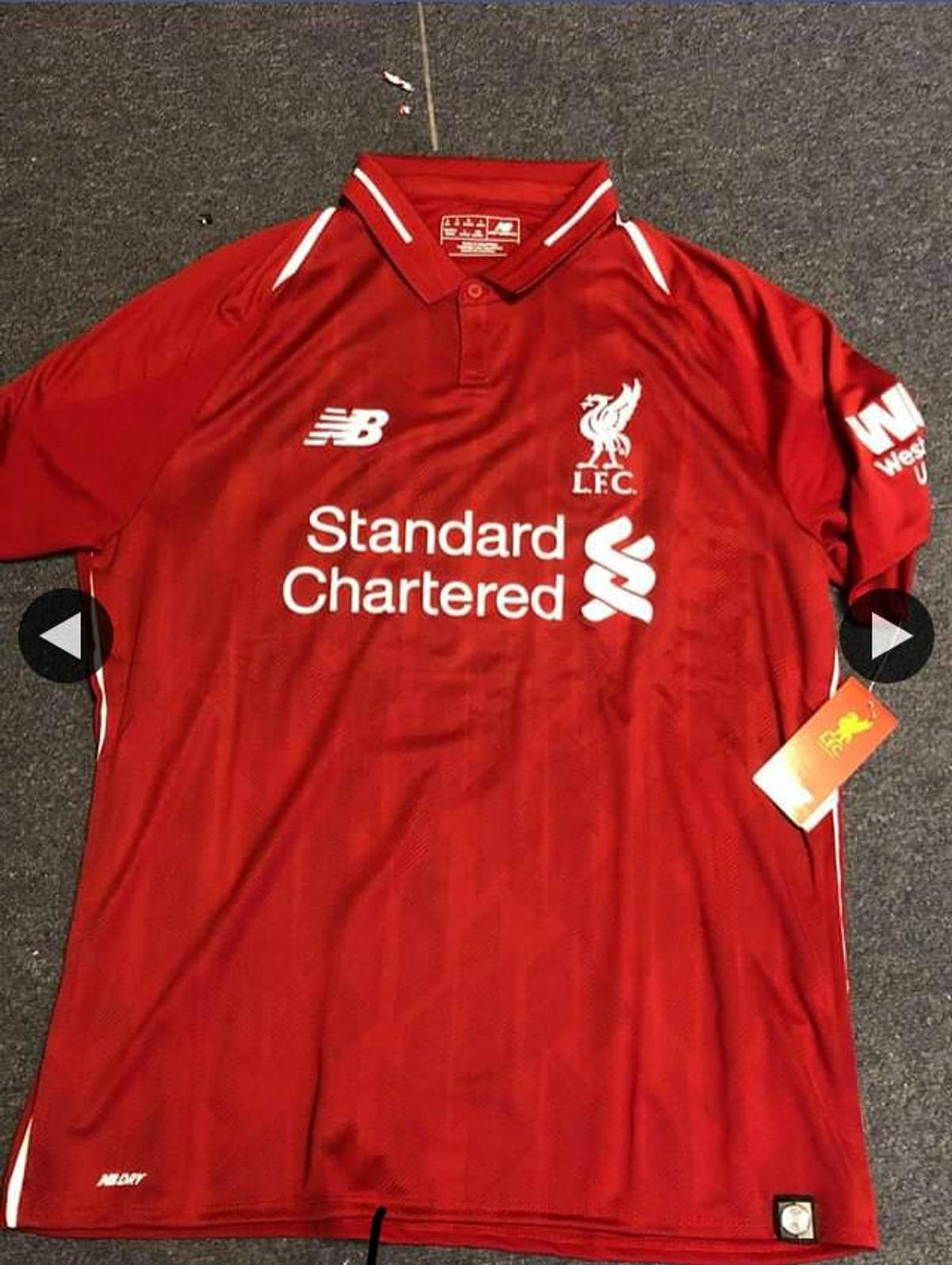 liverpool home shirt 2018 19 new with tags in g52 hillington for 25 00 for sale shpock liverpool home shirt 2018 19 new with tags