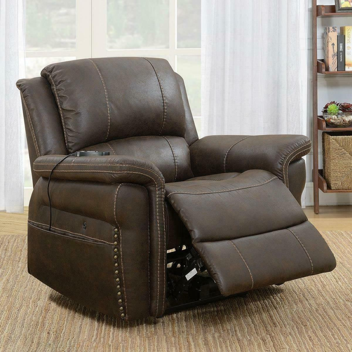 Recliner Chair With Built In Heat Massage