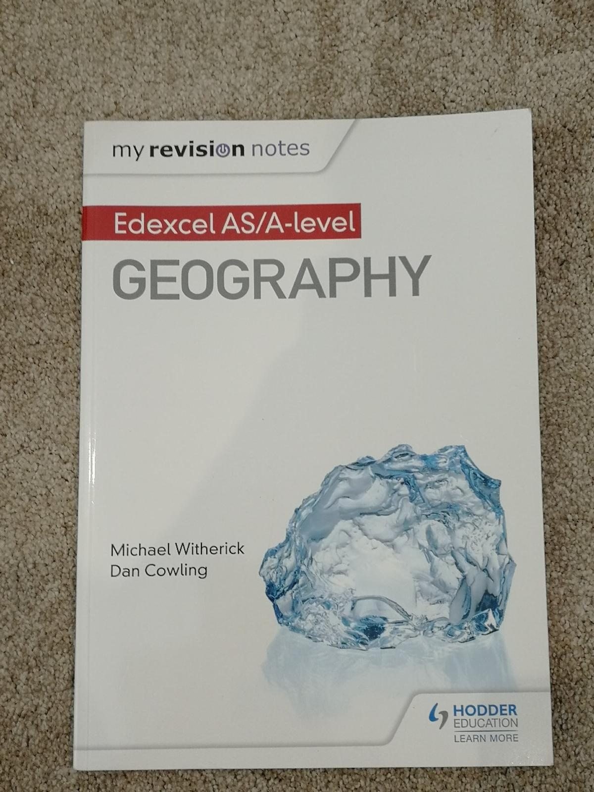 Edexcel A-Level Geography Revision Book