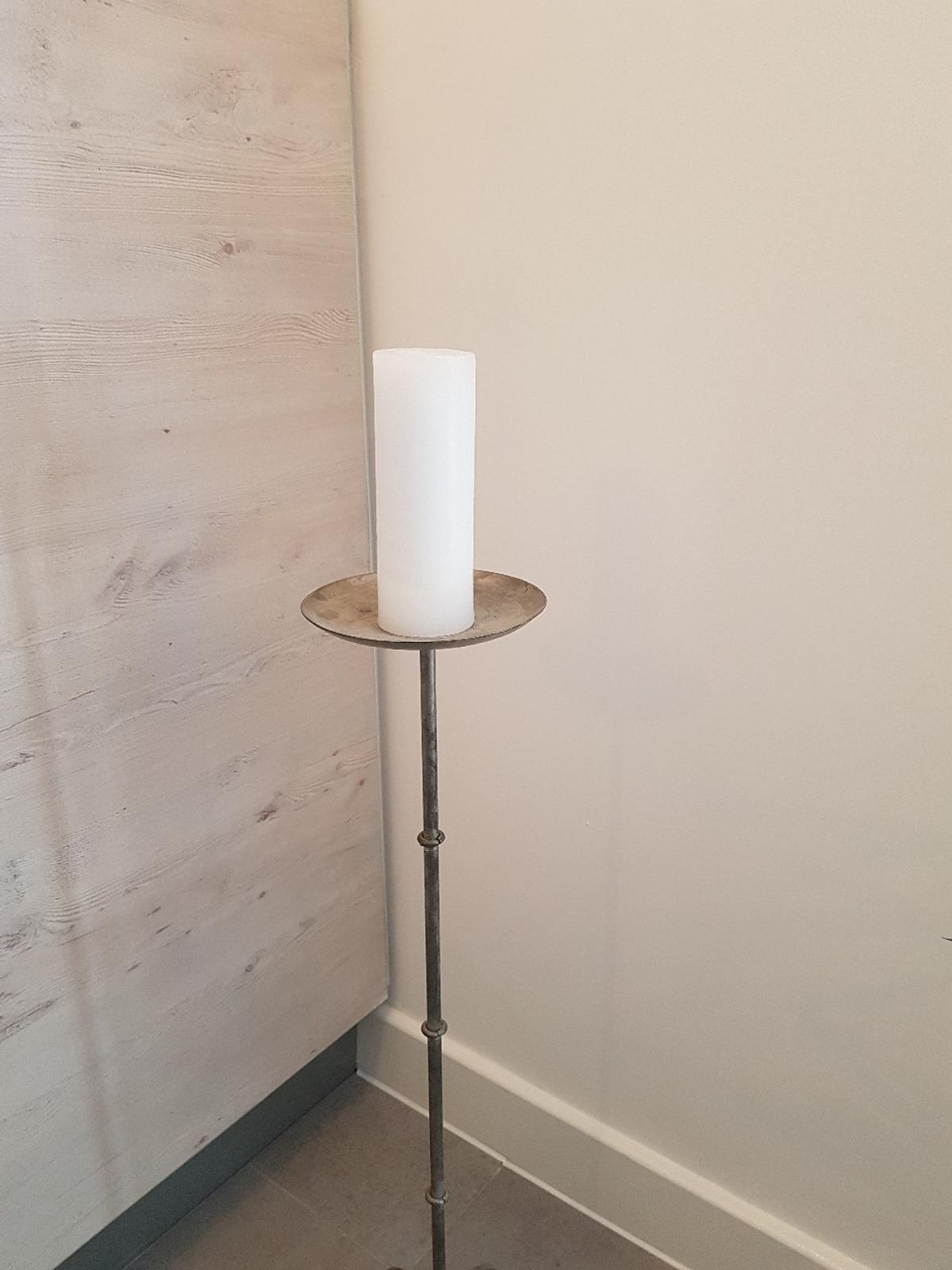 Wrought Iron Tall Candle Holder In Wf10 Wakefield For 17 00 For Sale Shpock