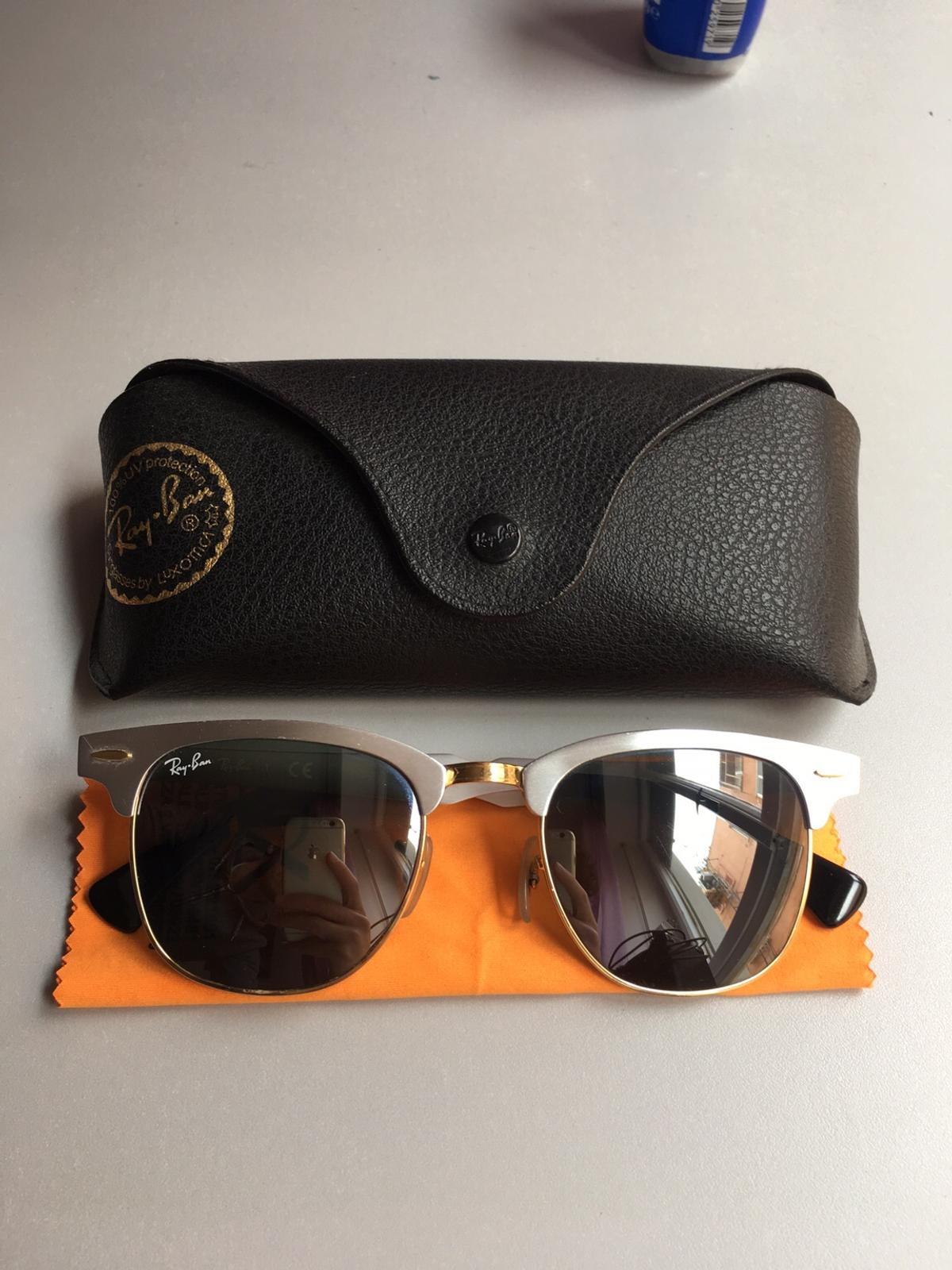 4fff0be37f Ray Ban Clubmaster Aluminum Rb3507 137 40