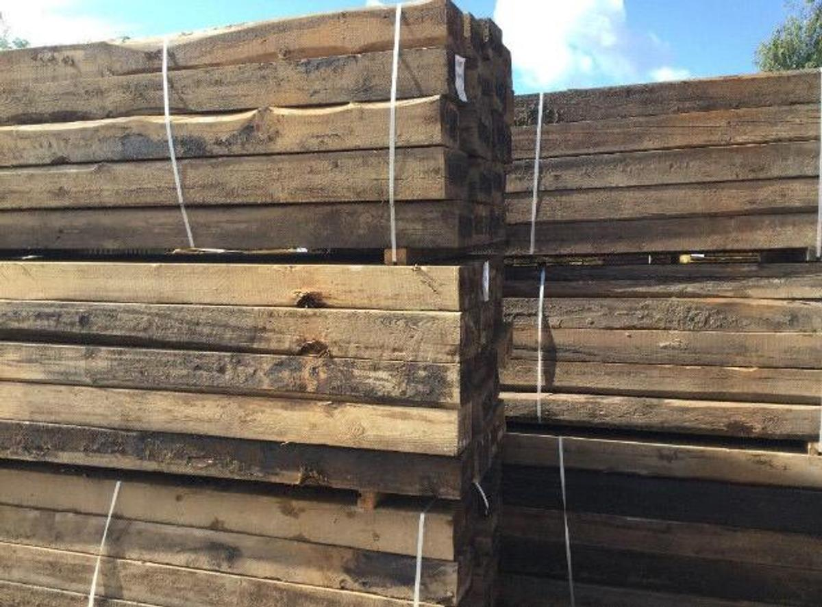 reclaimed Railway Sleepers in M25 Radcliffe for £30.00 for ...