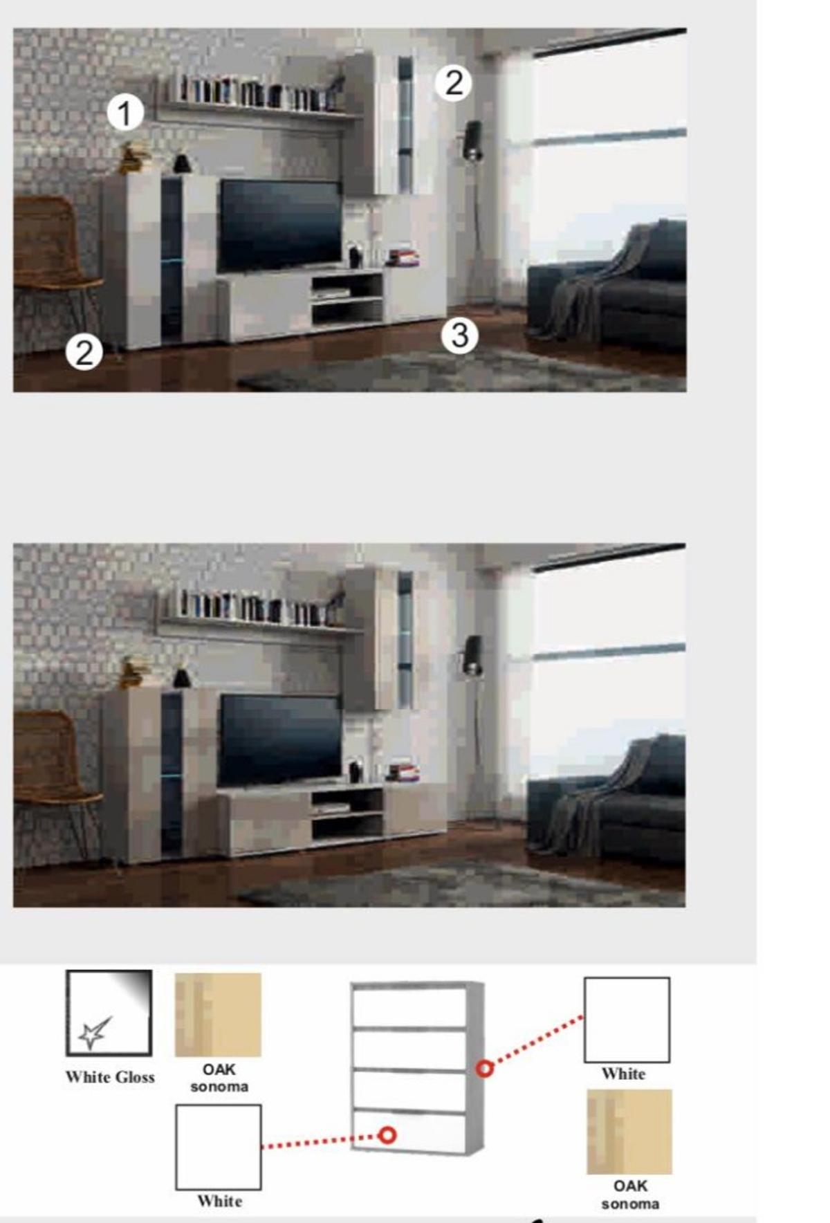 beautify your living room with bruno tv set