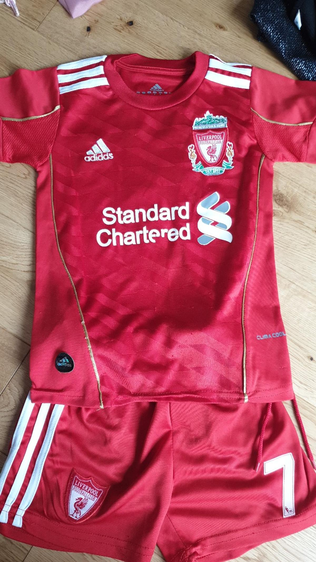 buy online 04cfe d2675 liverpool football kit. aged 4. £5