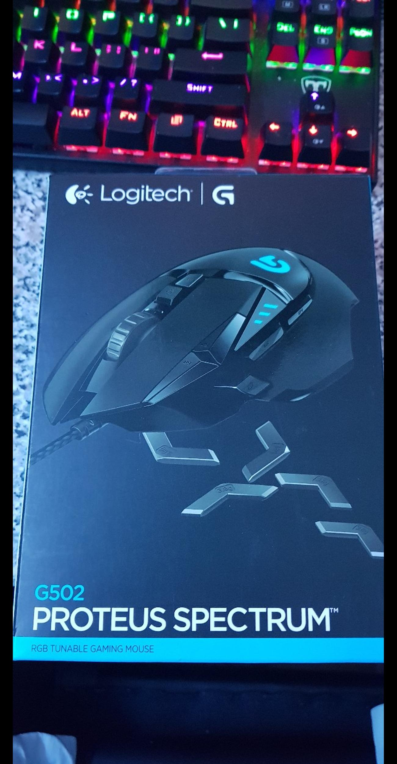 logitech g502 RGB mouse in London for £25 00 for sale - Shpock