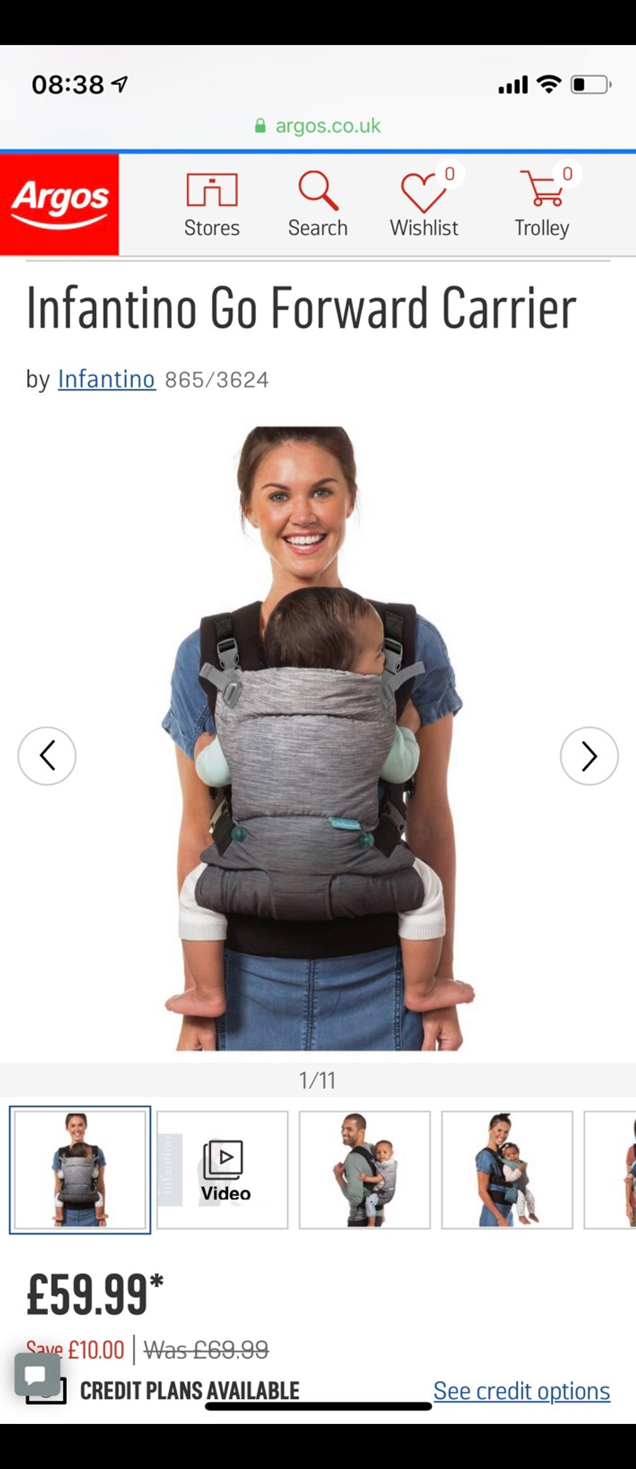 Infantino Go Forward Carrier In Wc1x London For 45 00 For Sale Shpock