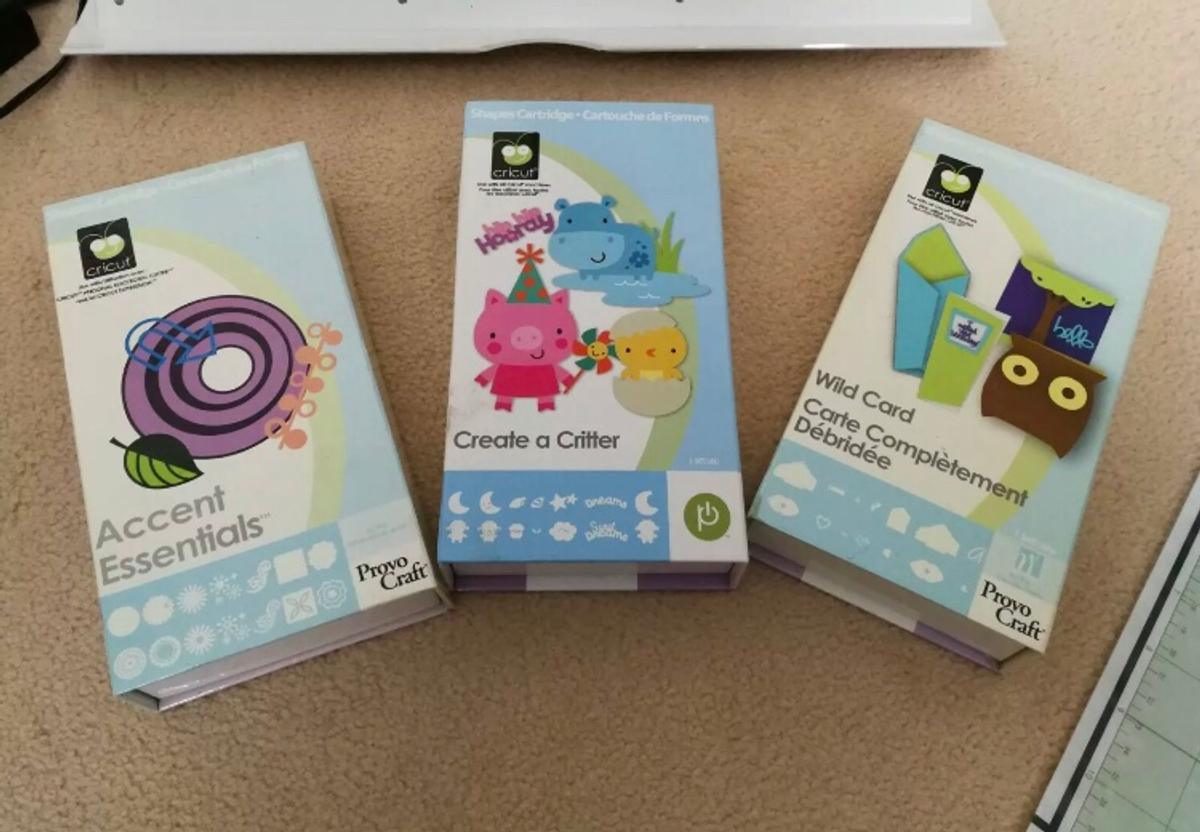 Cricut Expression with 3 cartridges and mats in LE11 Charnwood for