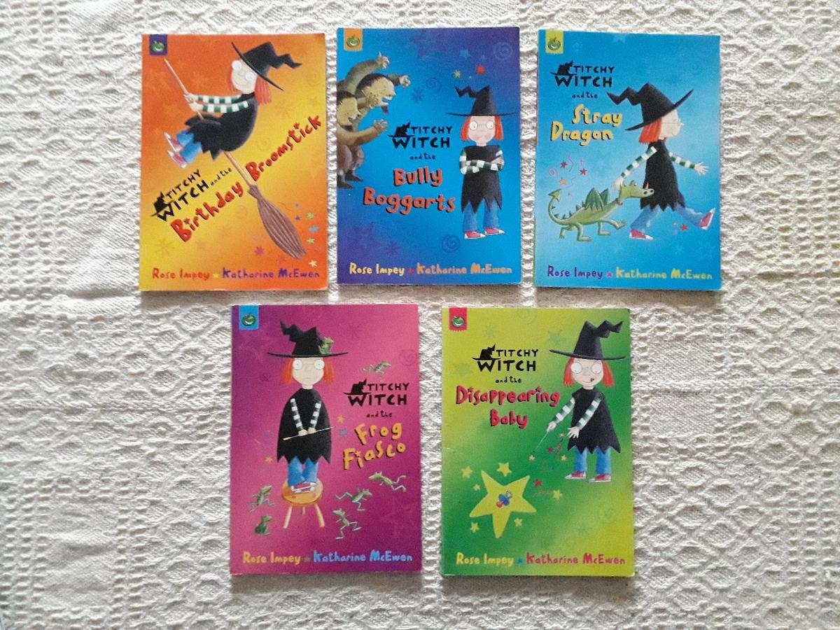 Titchy Witch and the       Book Bundle in NW2 Brent for