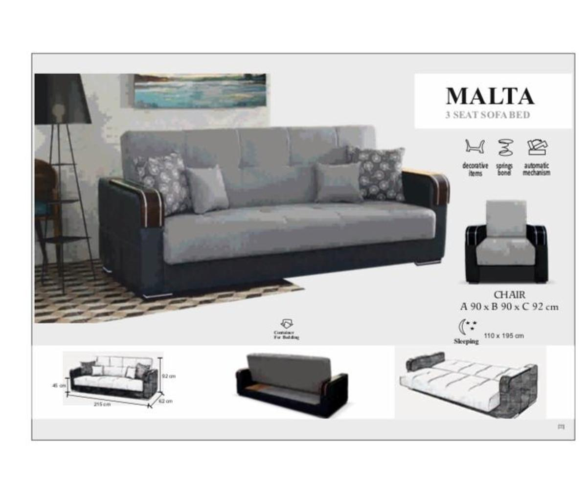 Stupendous Get Brand New 3 Or 2 Seater Malta Sofa Bed In E1 London Fur Caraccident5 Cool Chair Designs And Ideas Caraccident5Info
