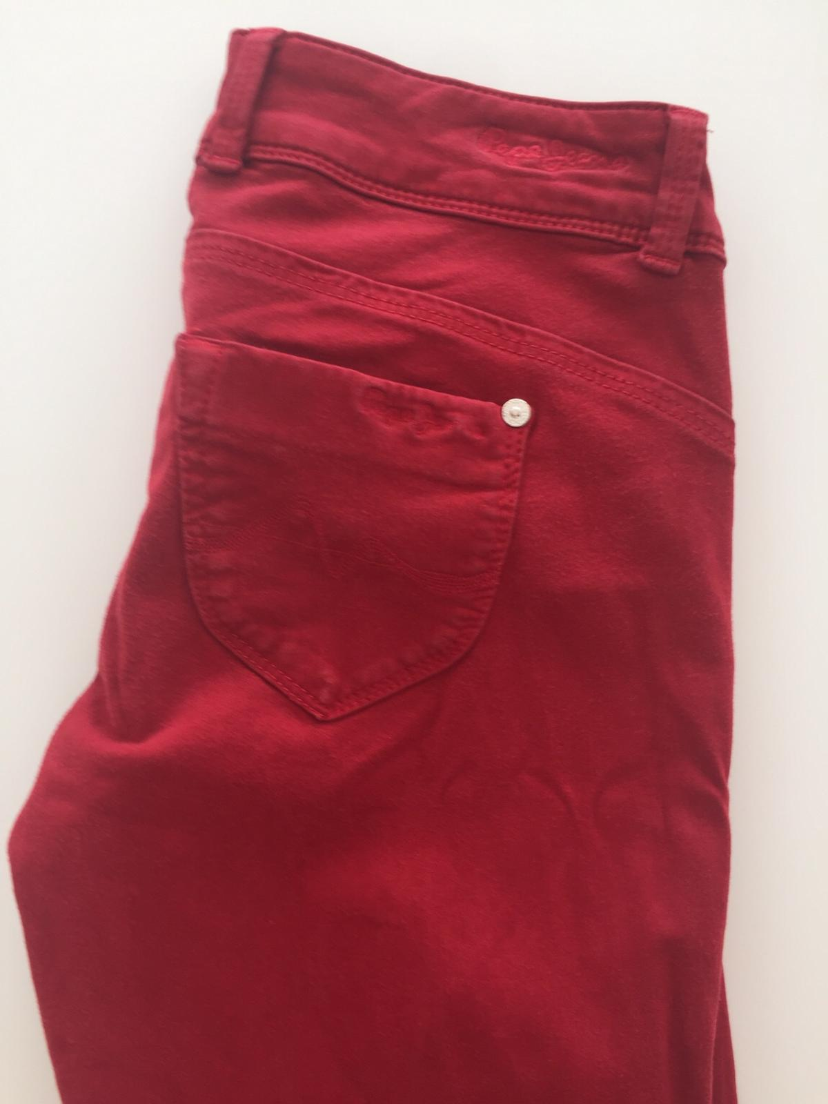 hot sale online 7a2f9 8a8d6 Pepe Jeans 👖 in rot Gr. 28/34 € 25,00