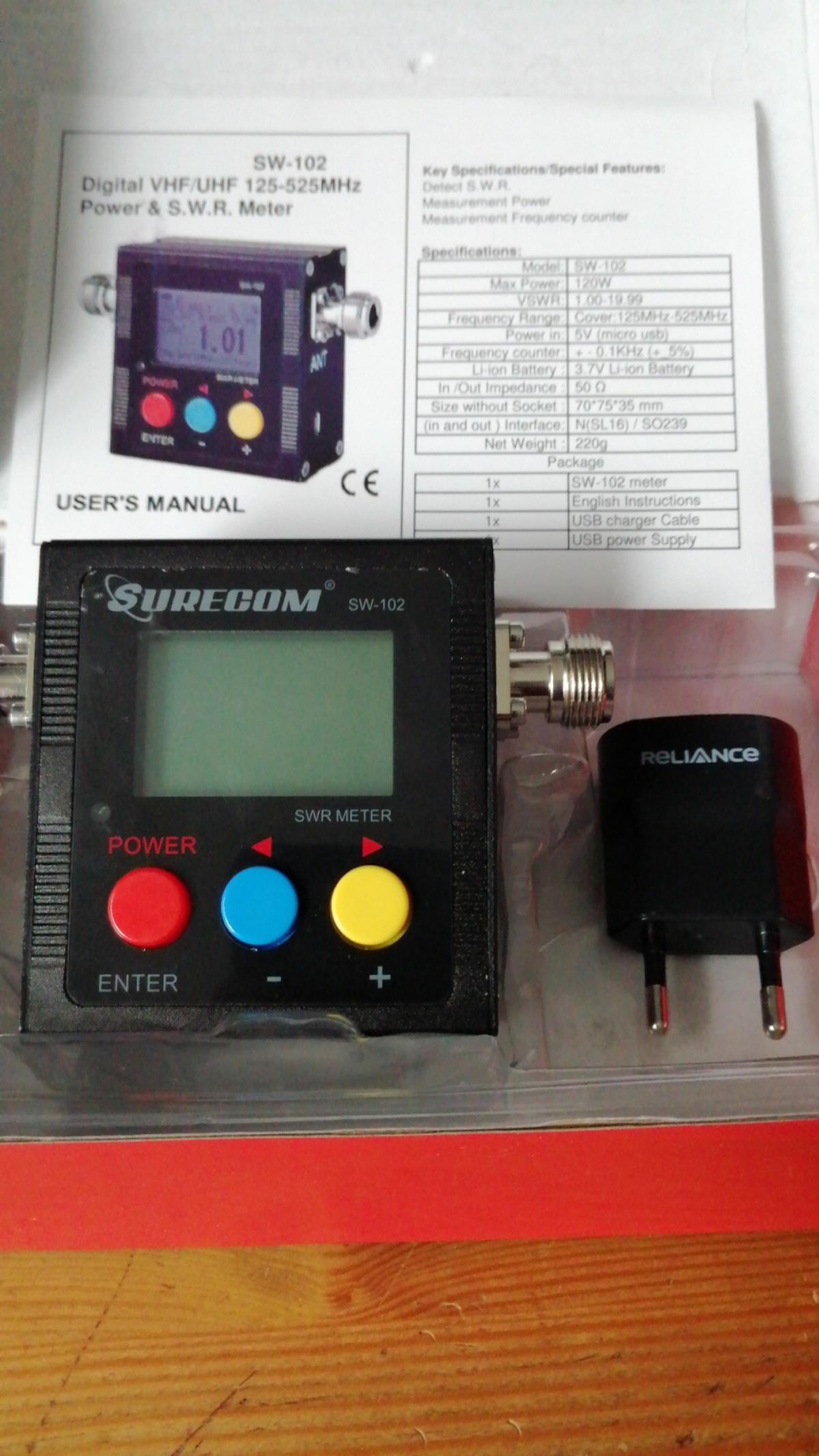 power swr Meter digital