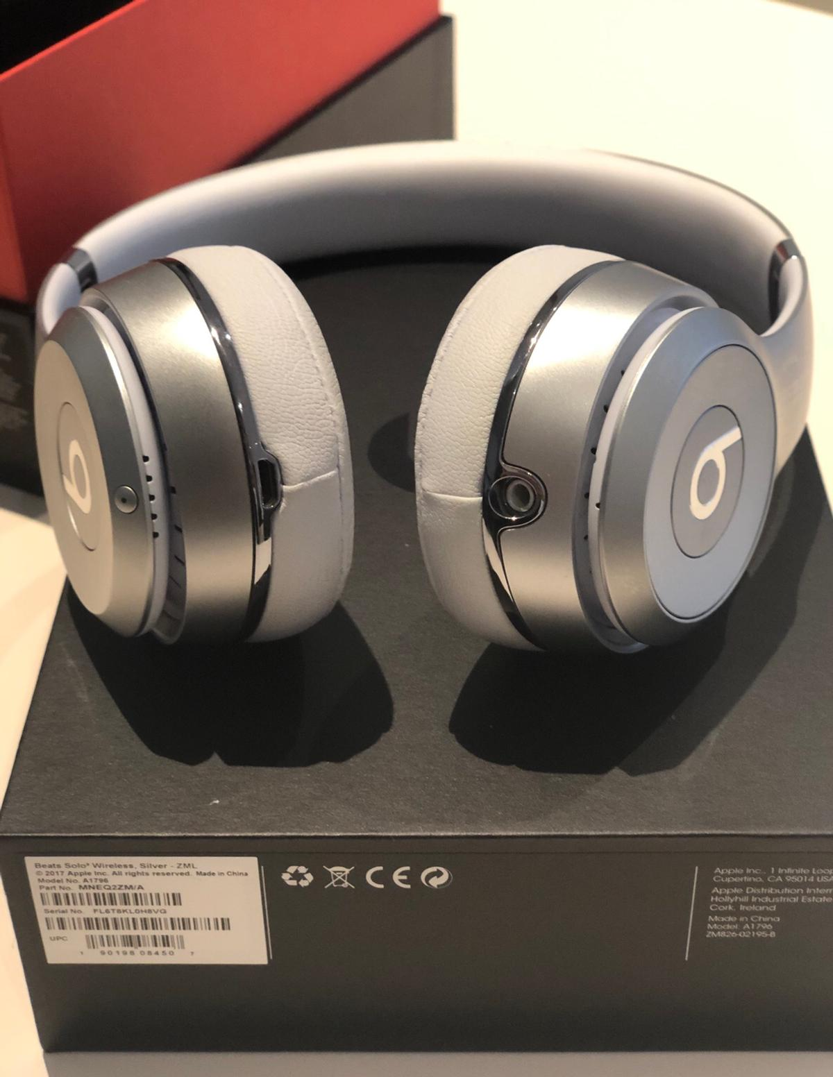 Beats Solo3 Wireless Satin Silver In Sw1p London For 140 00 For Sale Shpock