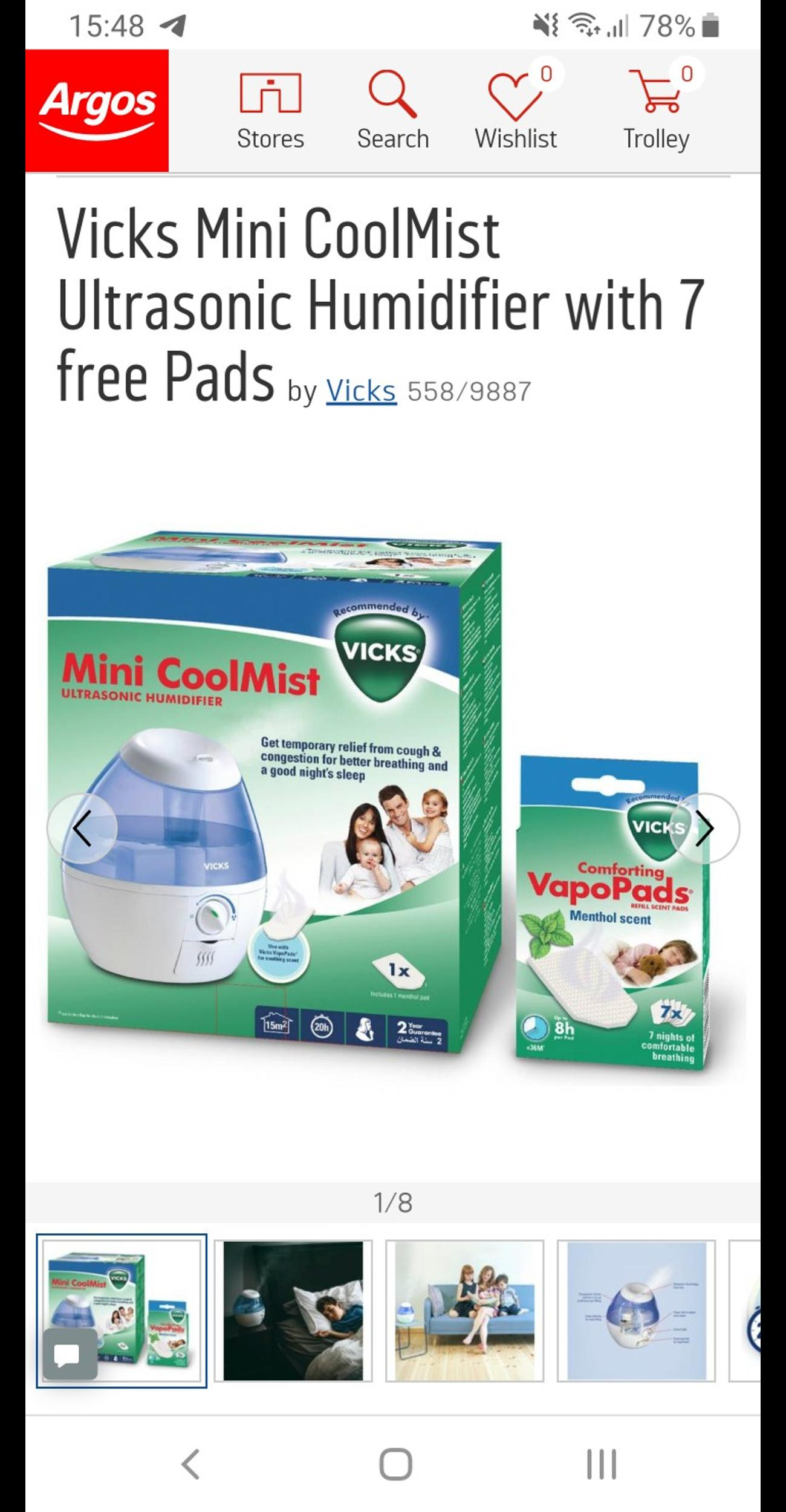 NEW Humidifier VICKS in E15 London for £20.00 for sale | Shpock