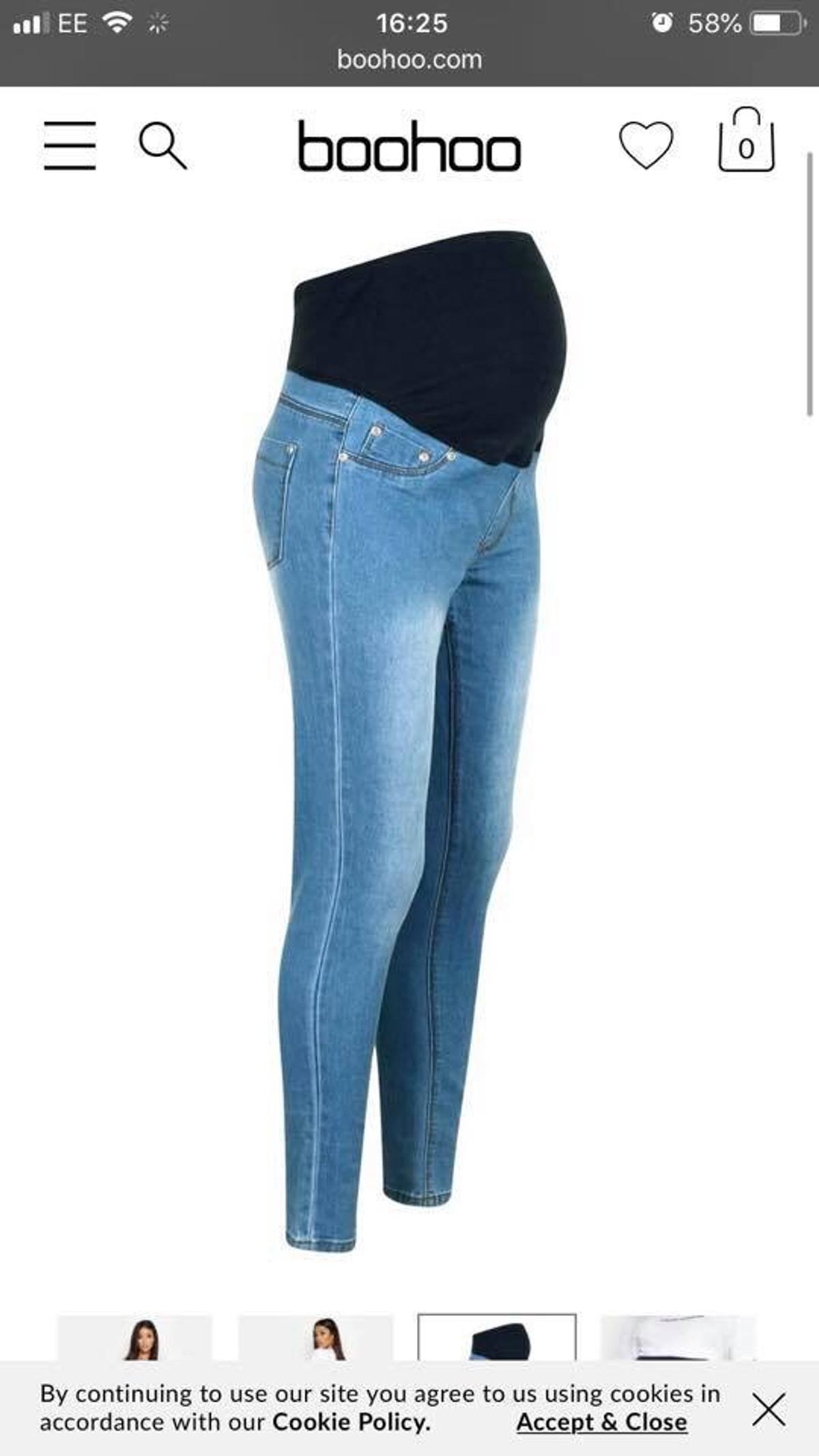 d25c127a69315 Boohoo Maternity jeans BNWT in St Helens for £15.00 for sale - Shpock