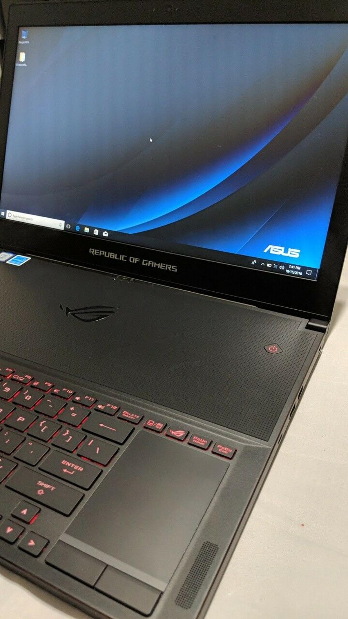 Asus ROG Zephyrus GTX 1080 Laptop in PA34 Oban for £380 00 for sale