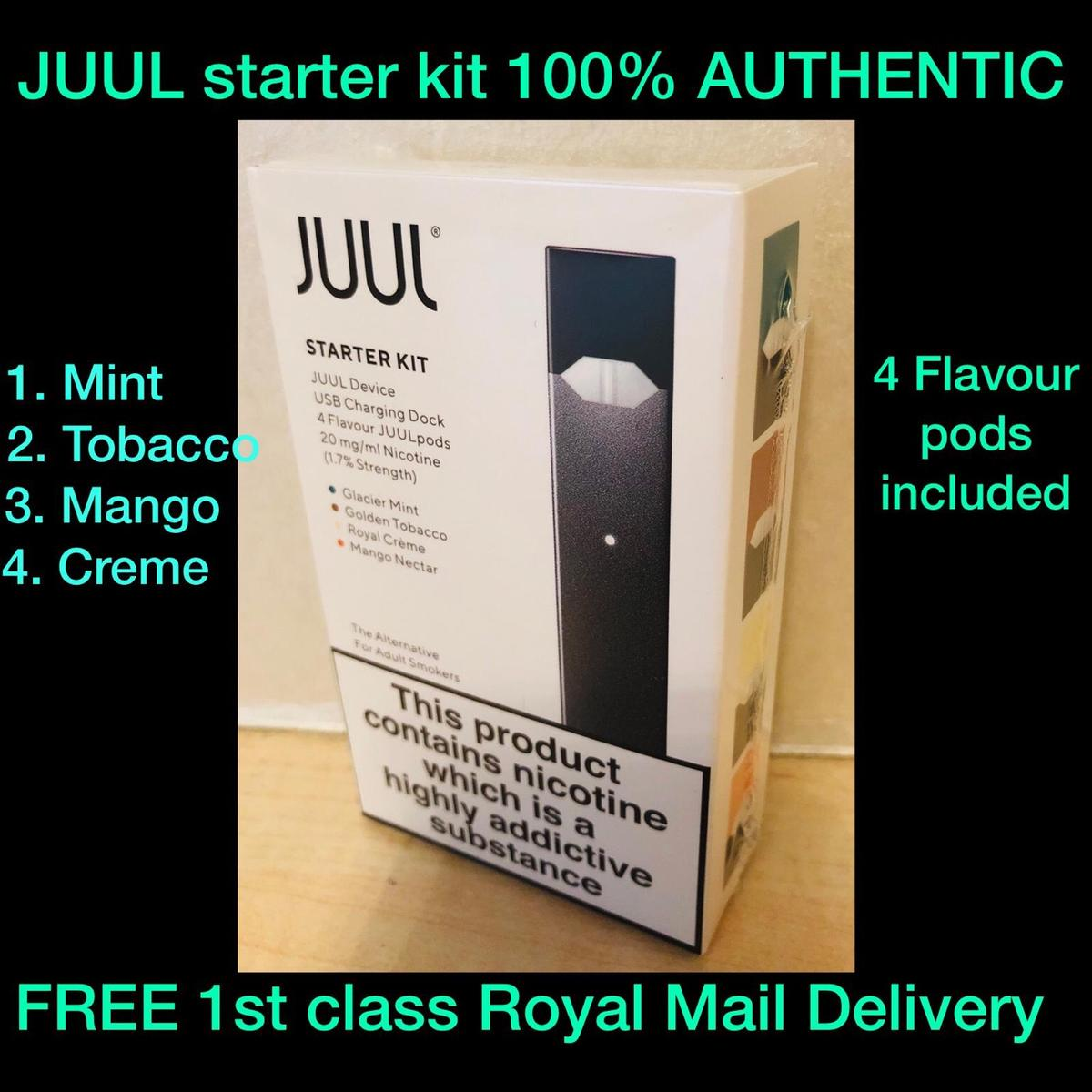 JUUL starter kit CLEARANCE (FREE DELIVERY) in LS17 Leeds for £23 00