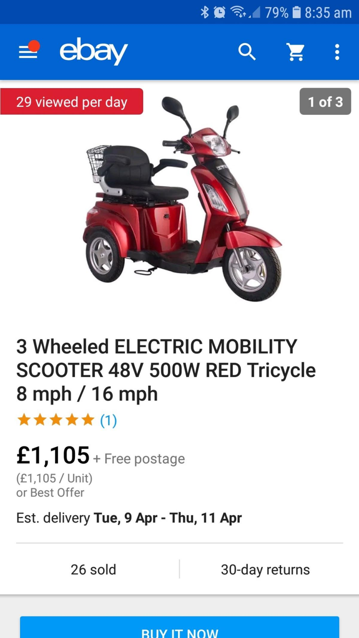 mobility trike in DN4 Doncaster for £800 00 for sale - Shpock